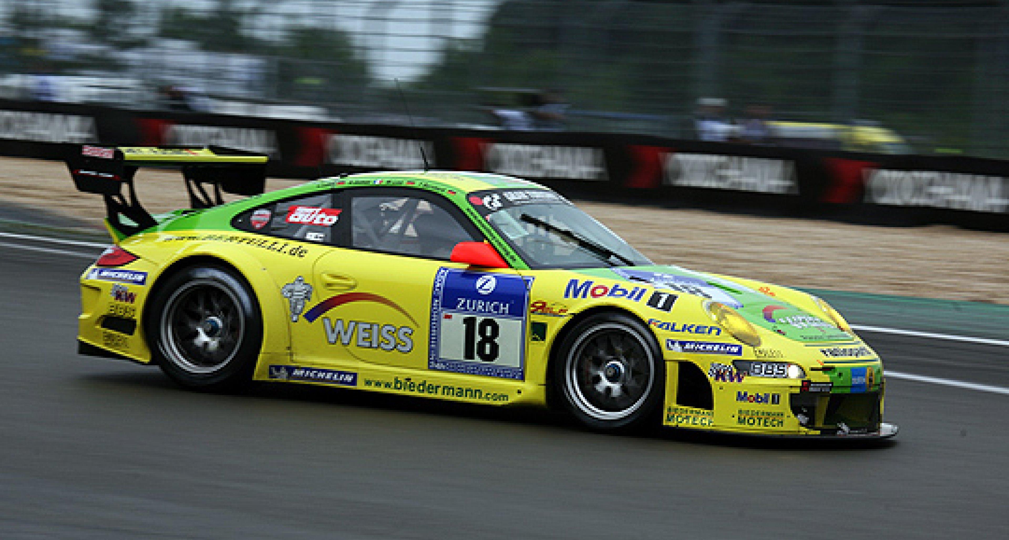 Manthey-Porsche gewinnt das 24h-Rennen am Nürburgring