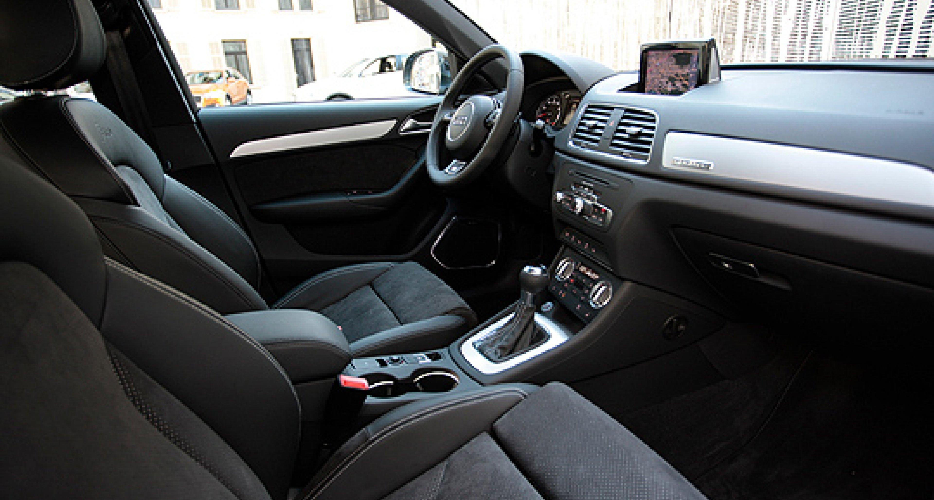 Erste Testfahrt im Audi Q3 Fünfzylinder-Prototyp