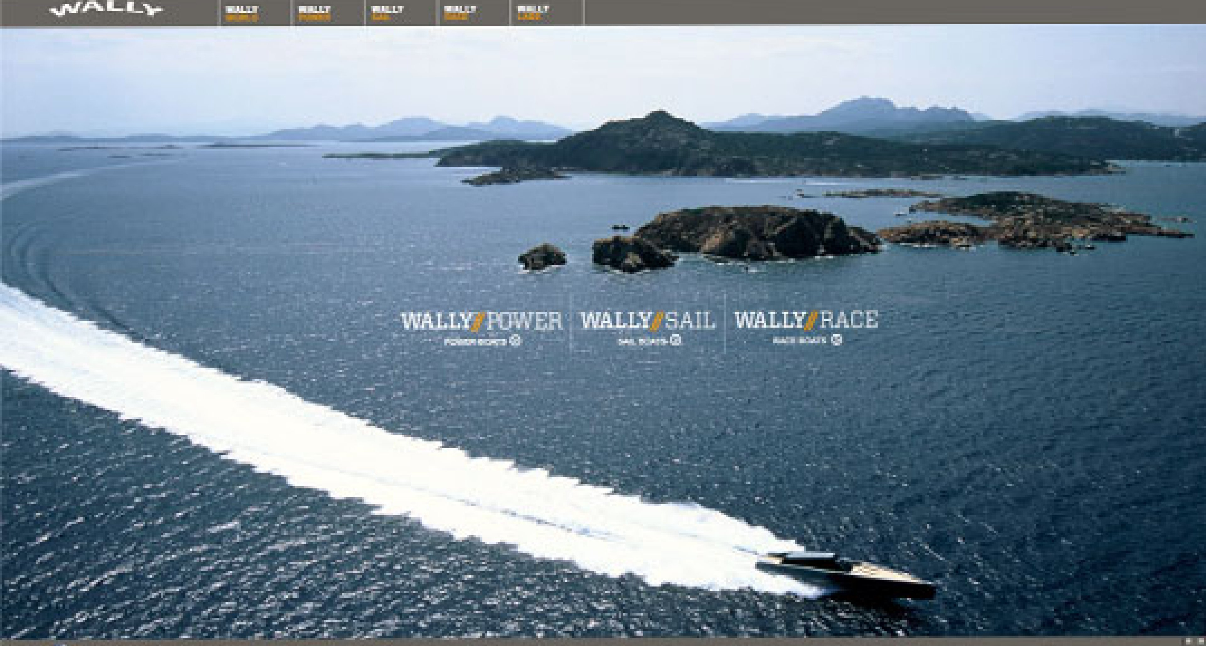 Wally sails across the net with new website