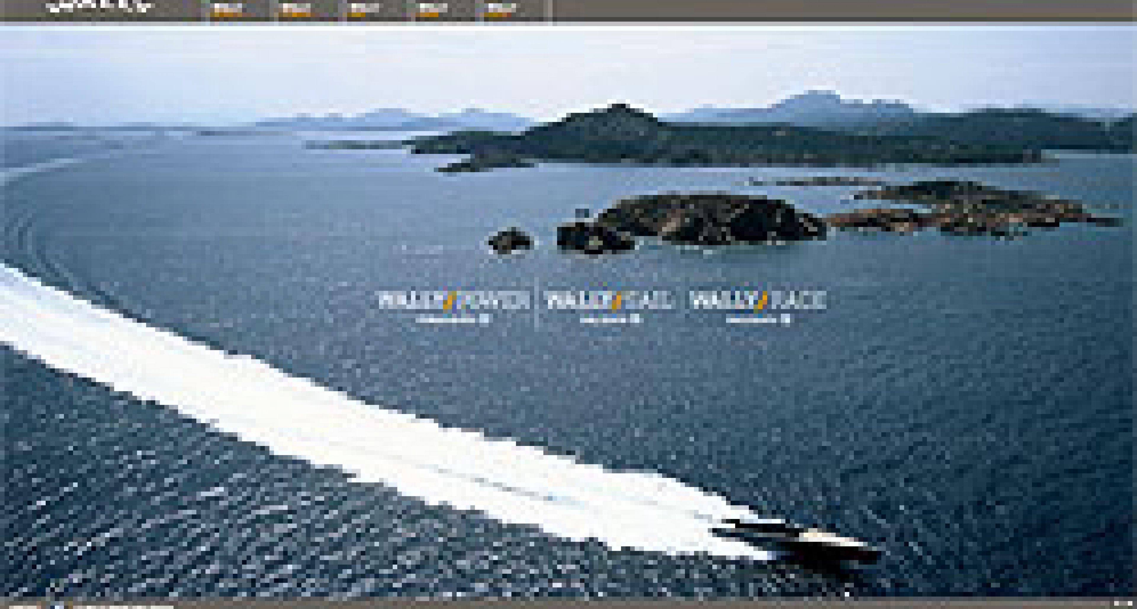 Wally segelt mit neuer Website durchs Netz