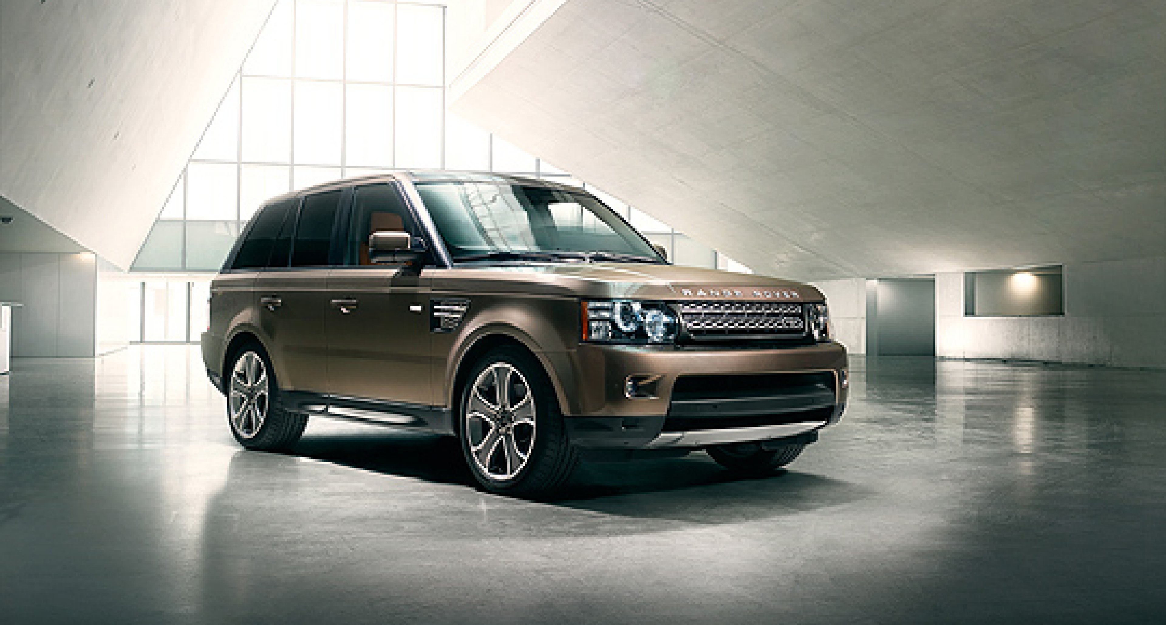 Range Rover Sport 2012 with new 8-speed automatic