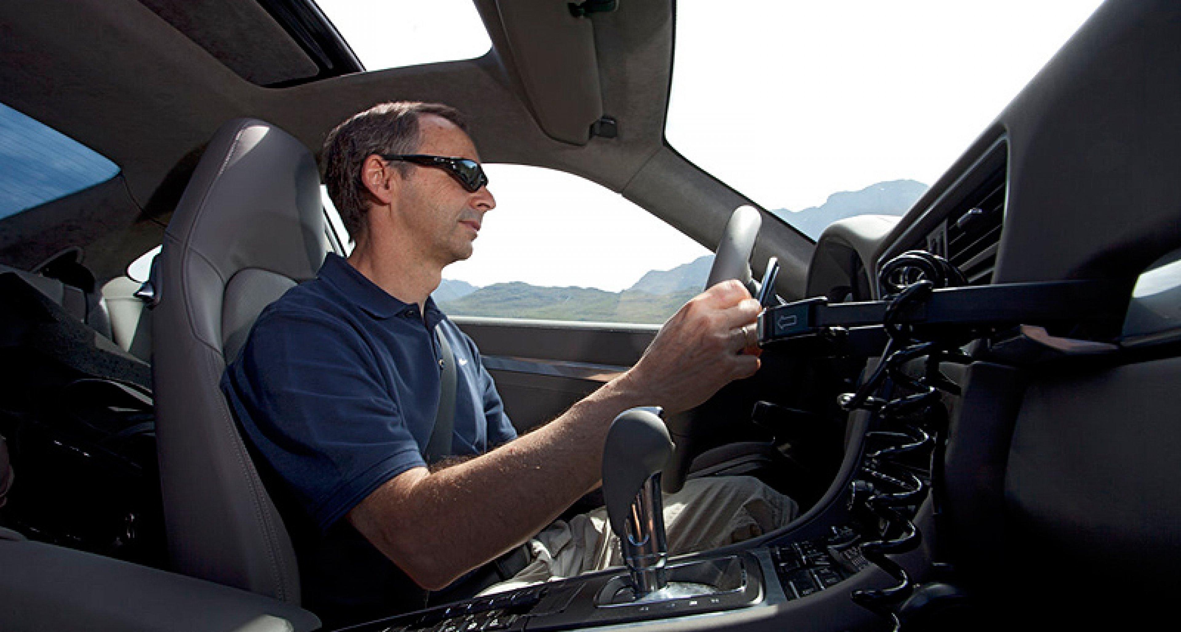 Test ride in the 2012 Porsche 911