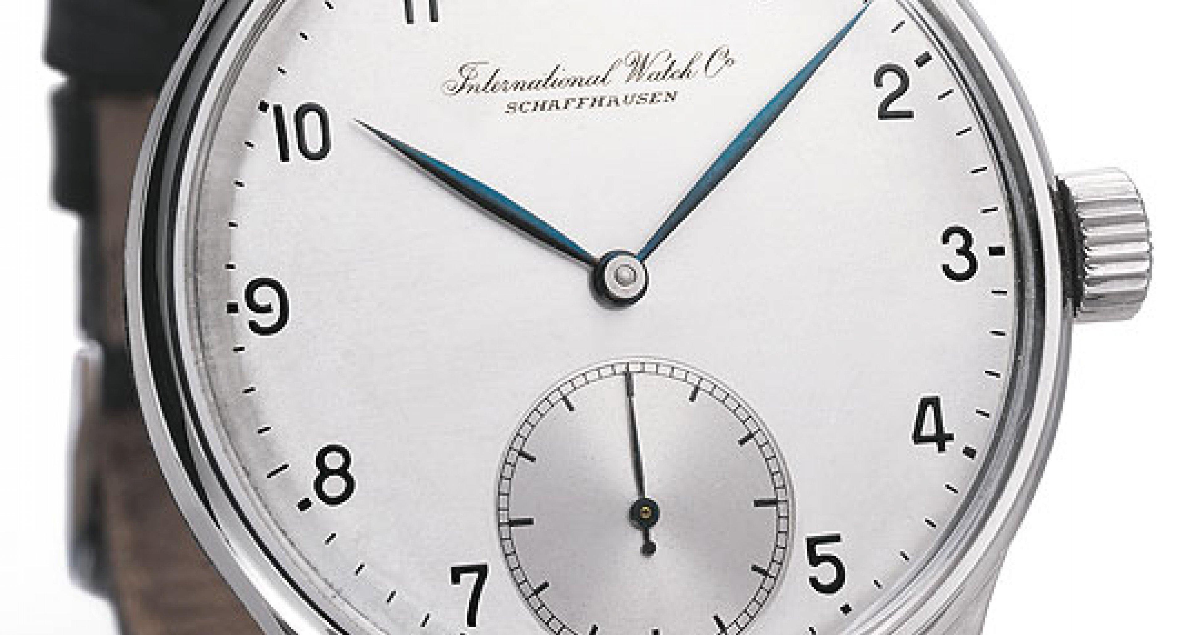 Ikonen der Uhrengeschichte No. 8: IWC Portugieser