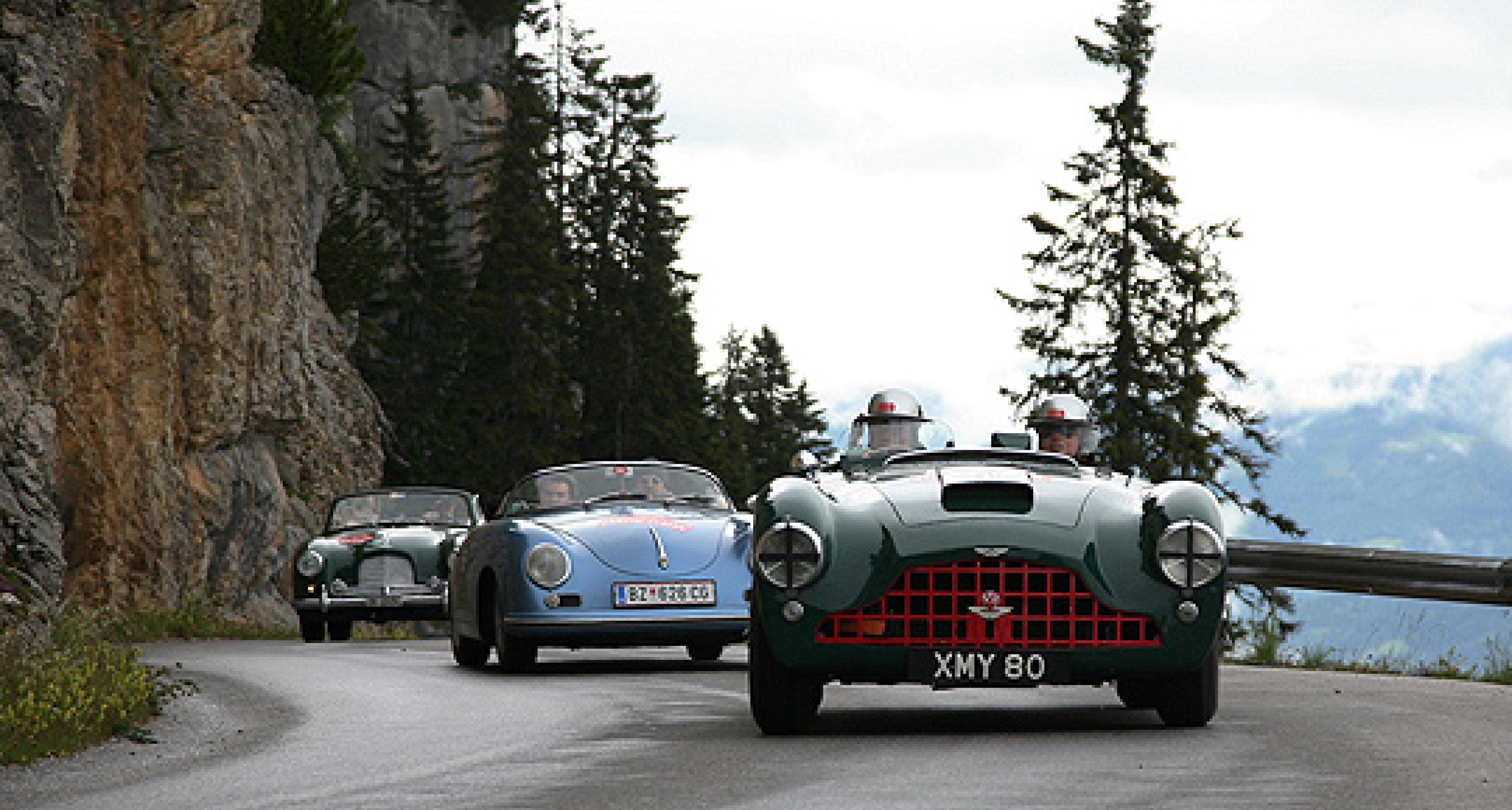 Ennstal Classic 2011: Ferrari vor Ferrari
