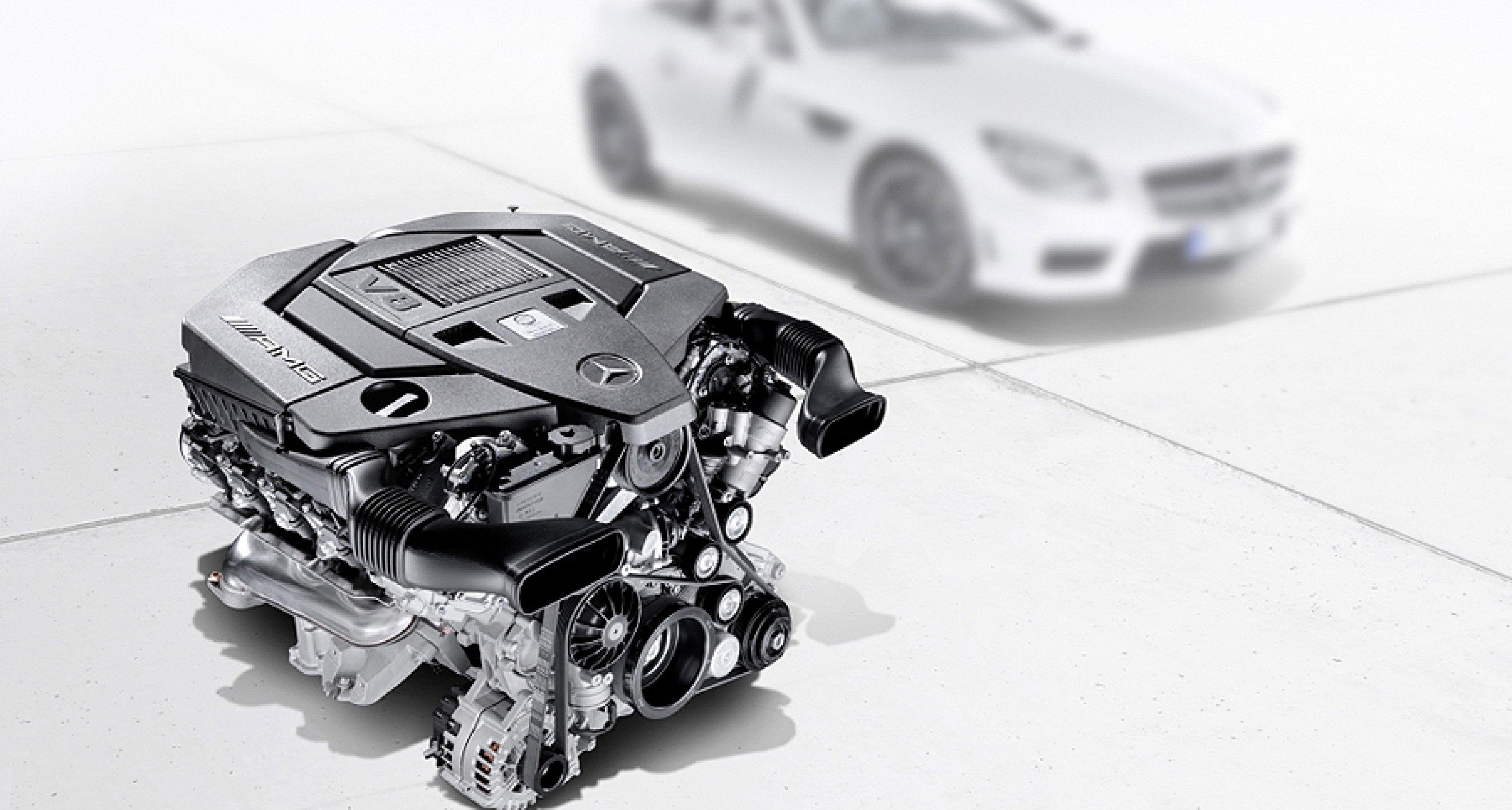 Neuer AMG-V8-Saugmotor: Sparsam dank Zylinderabschaltung