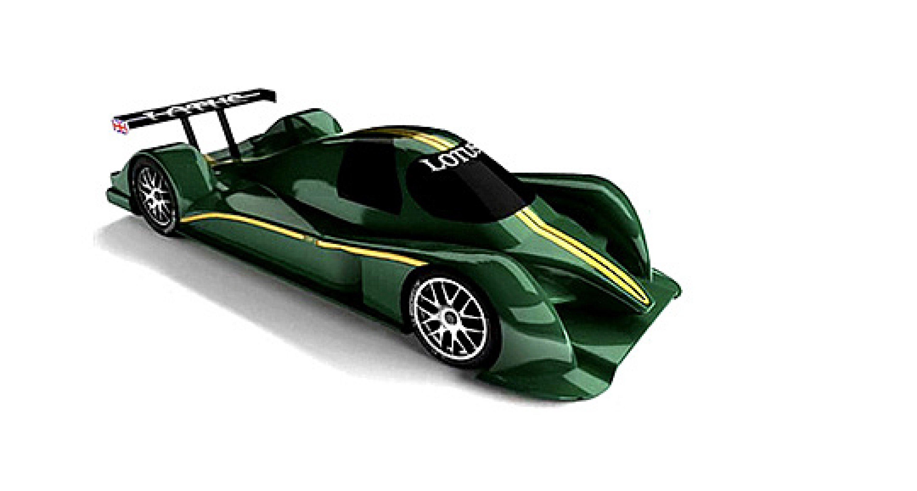 Lotus LMP2-Rennwagen: Premiere auf der IAA?