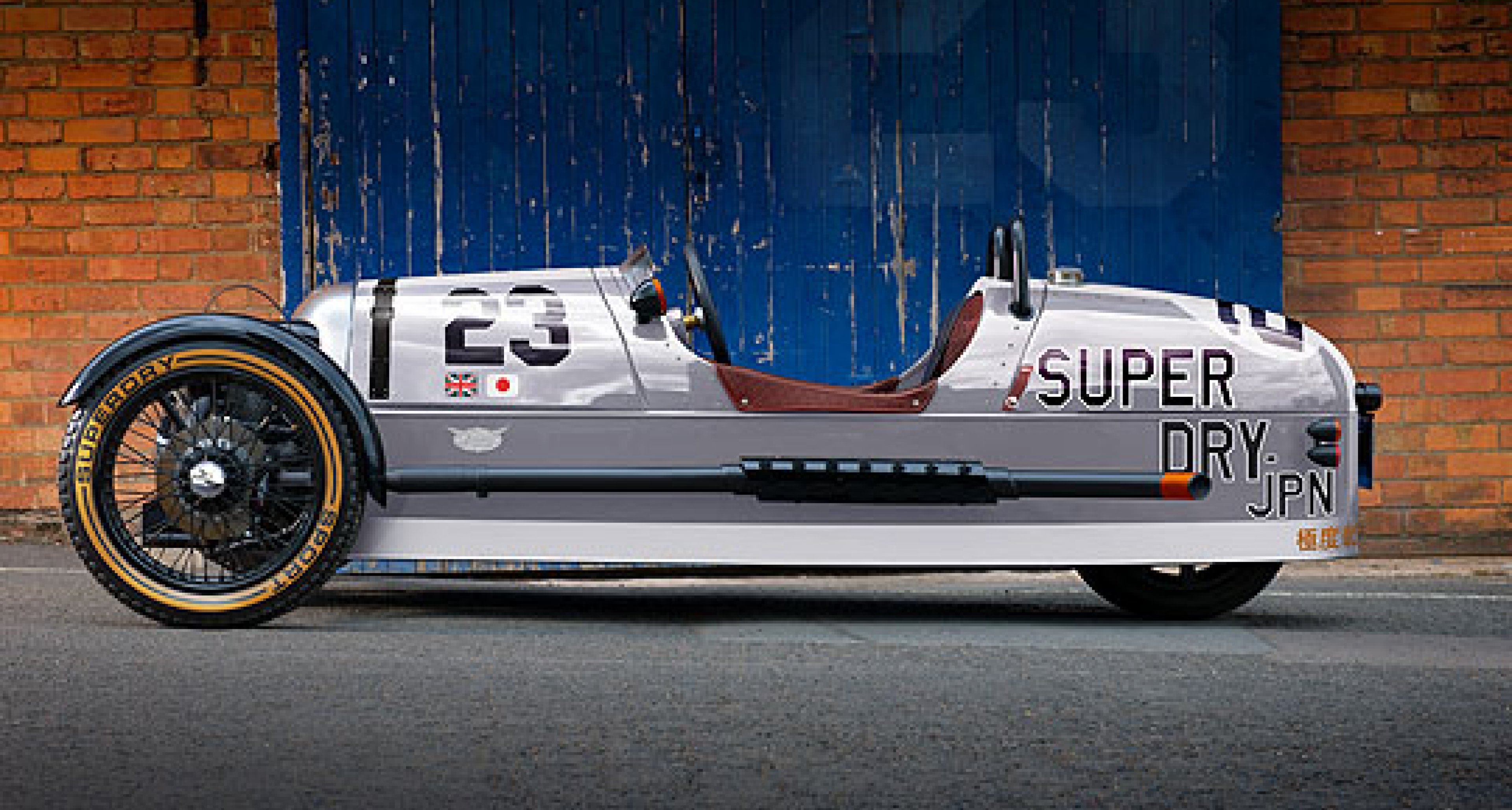 Morgan and Superdry: Limited-edition car and clothing