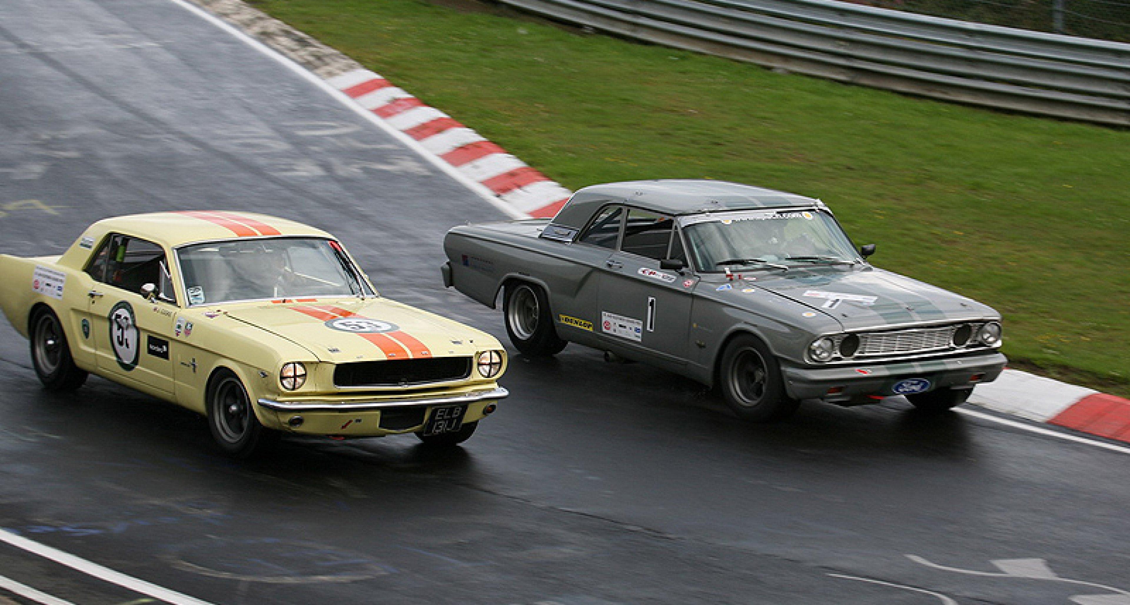Team Classic Driver erreicht 2. Platz beim OGP am Nürburgring