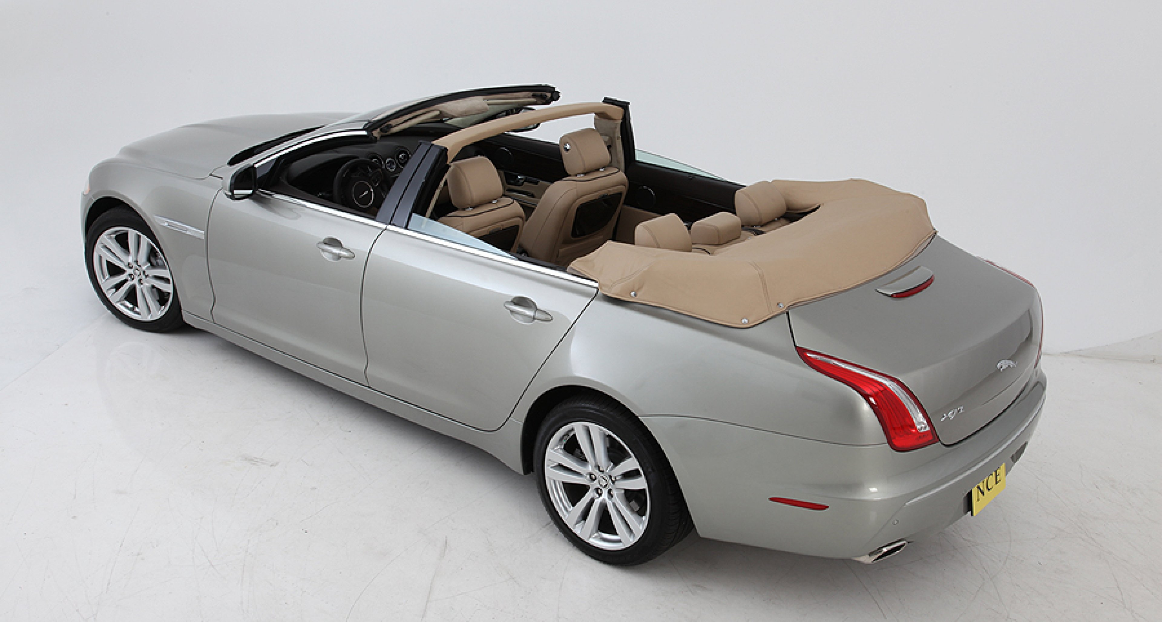 Jaguar XJL Newport Convertible: Mehr Licht
