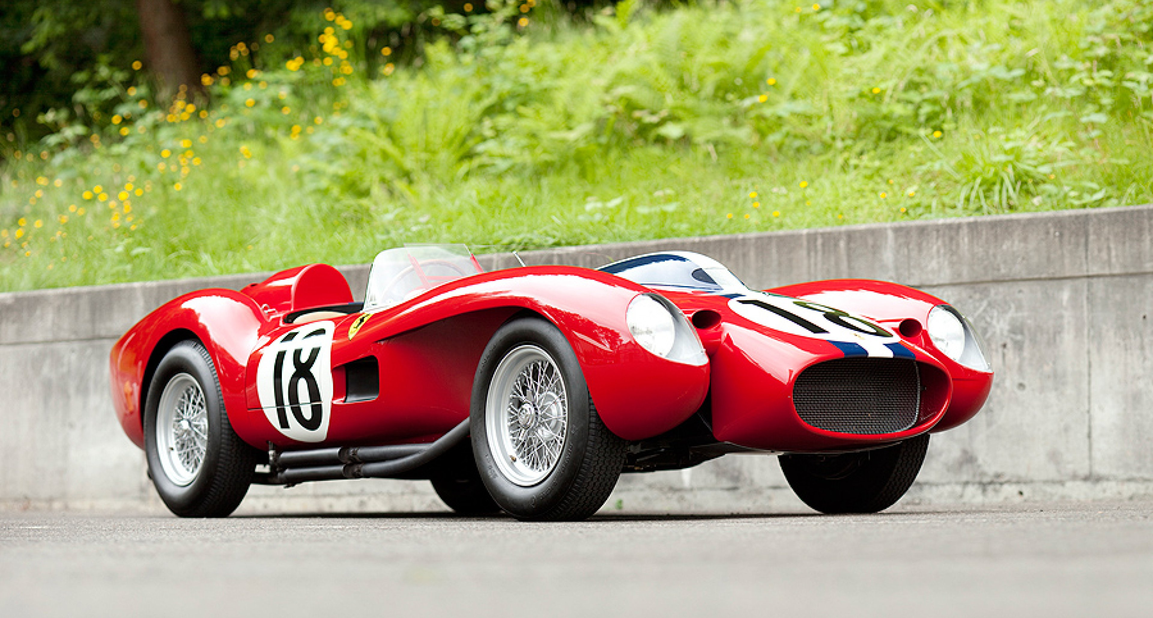 Neuer Weltrekord Ferrari 250 Testa Rossa Prototyp Für 16 4 Millionen Us Dollar Versteigert Classic Driver Magazine
