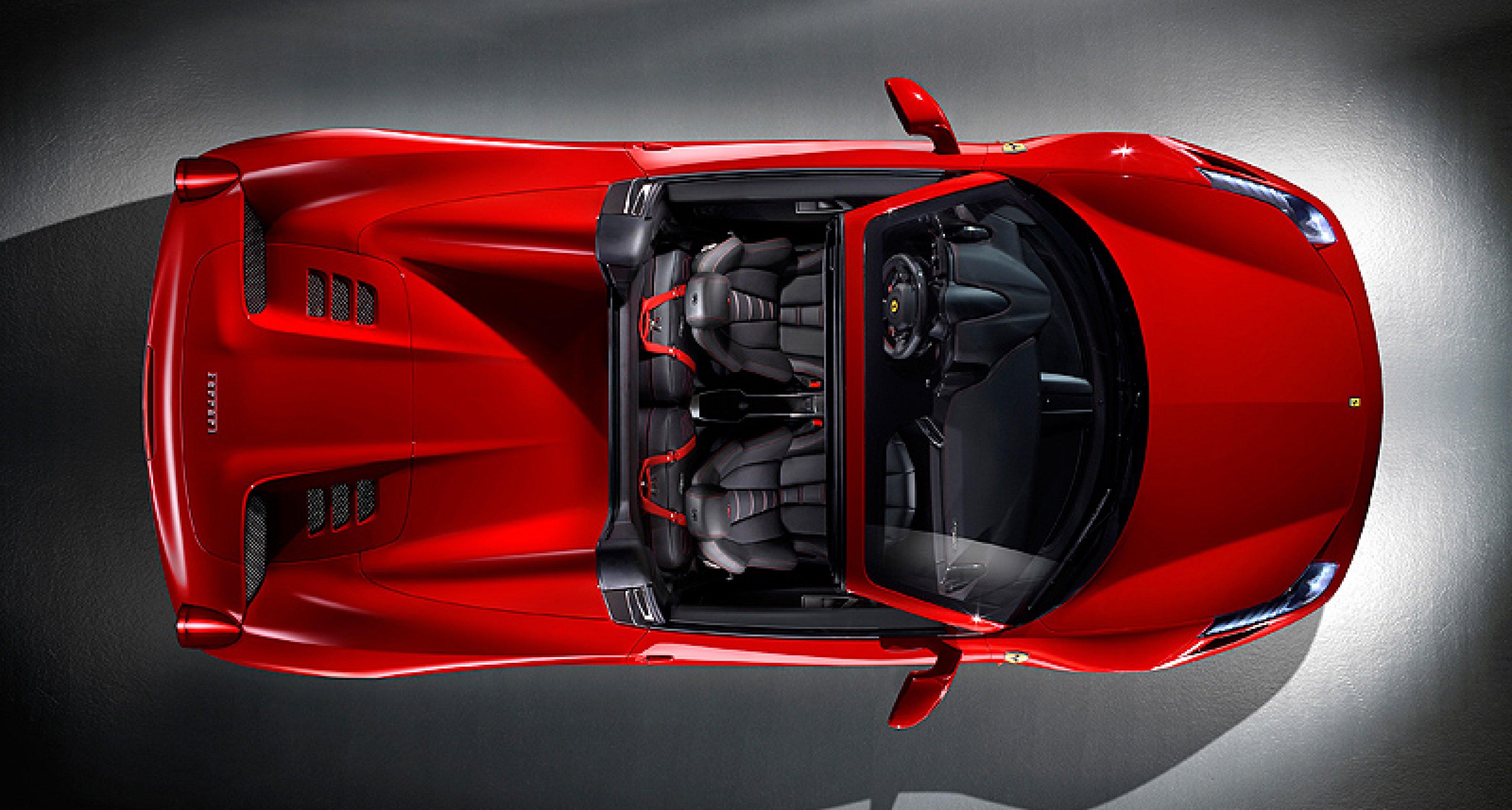 Ferrari 458 Spider to debut in Frankfurt