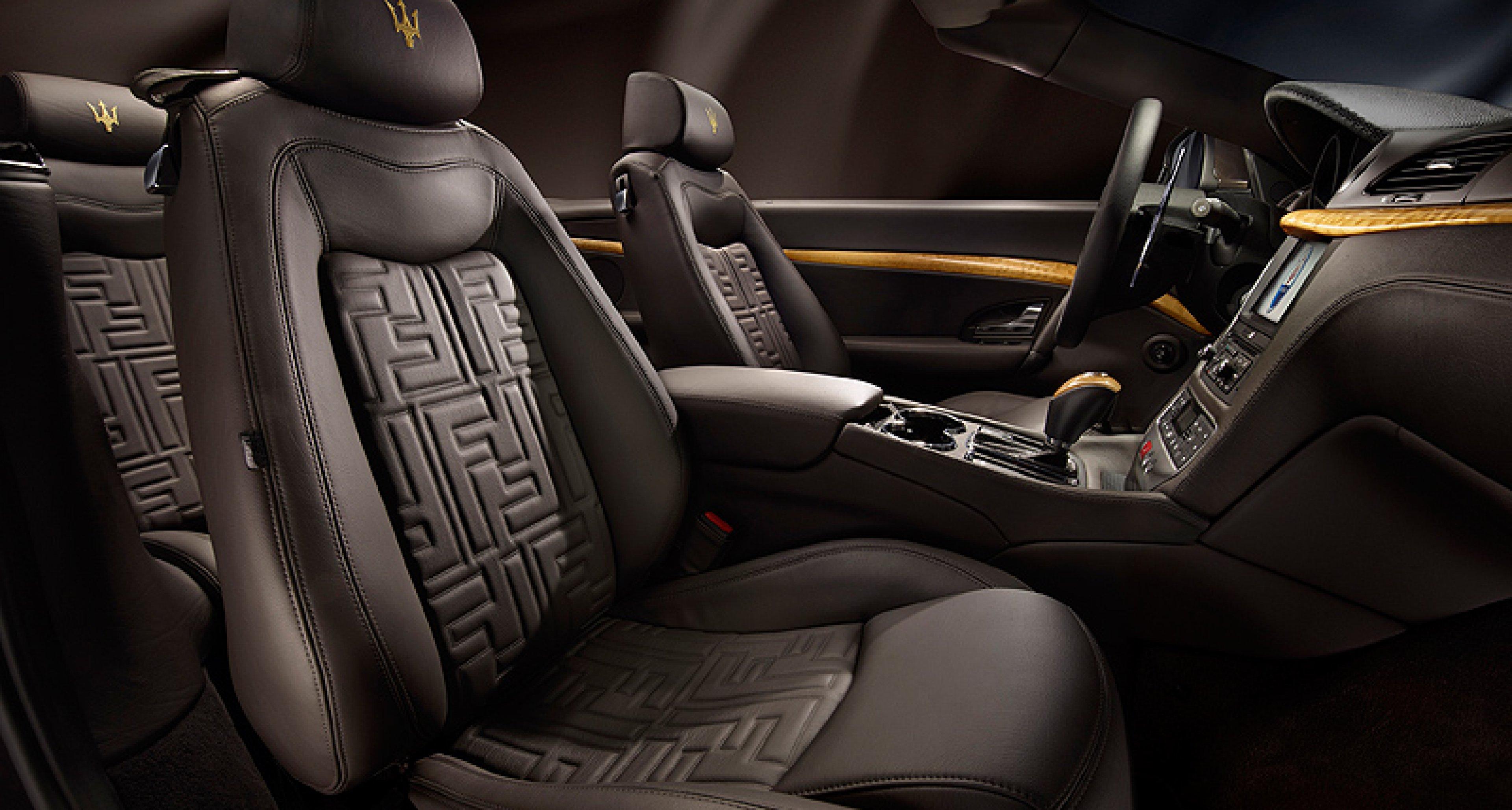 Fendi Maserati GranCabrio: The fashion connection