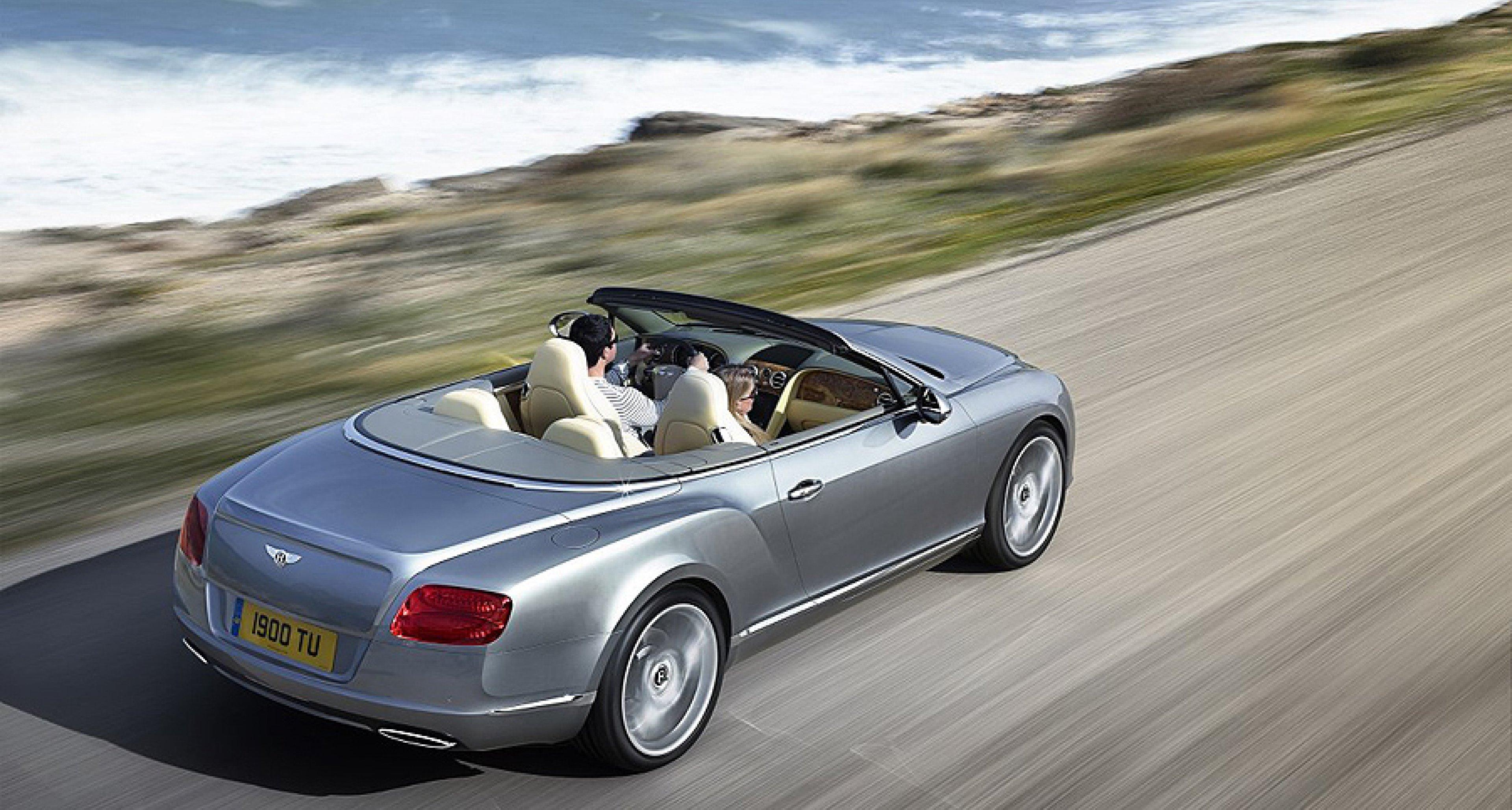 New Bentley Continental GTC to debut at Frankfurt