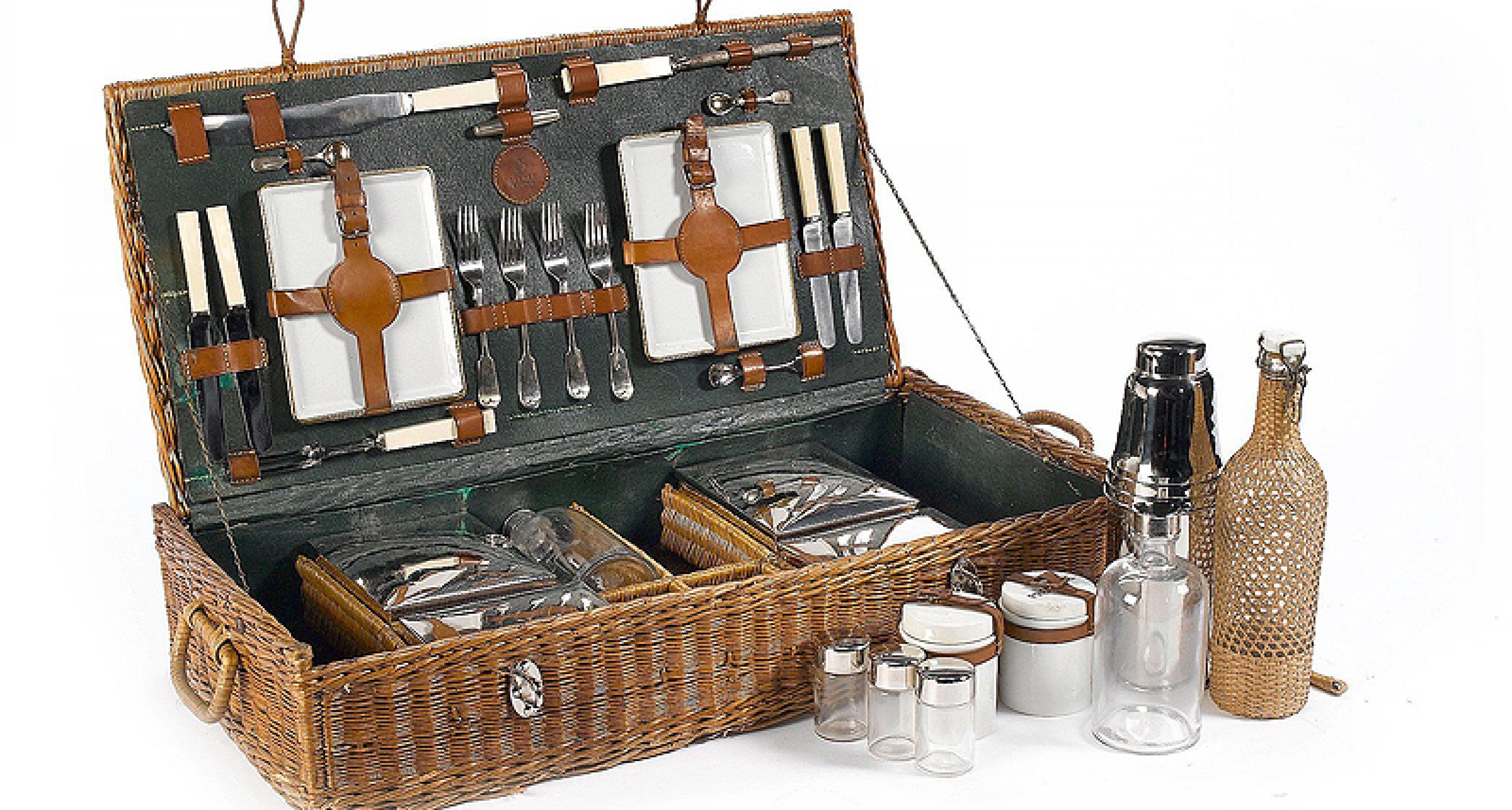 Bonhams versteigert historische Picknick-Koffer in Monterey