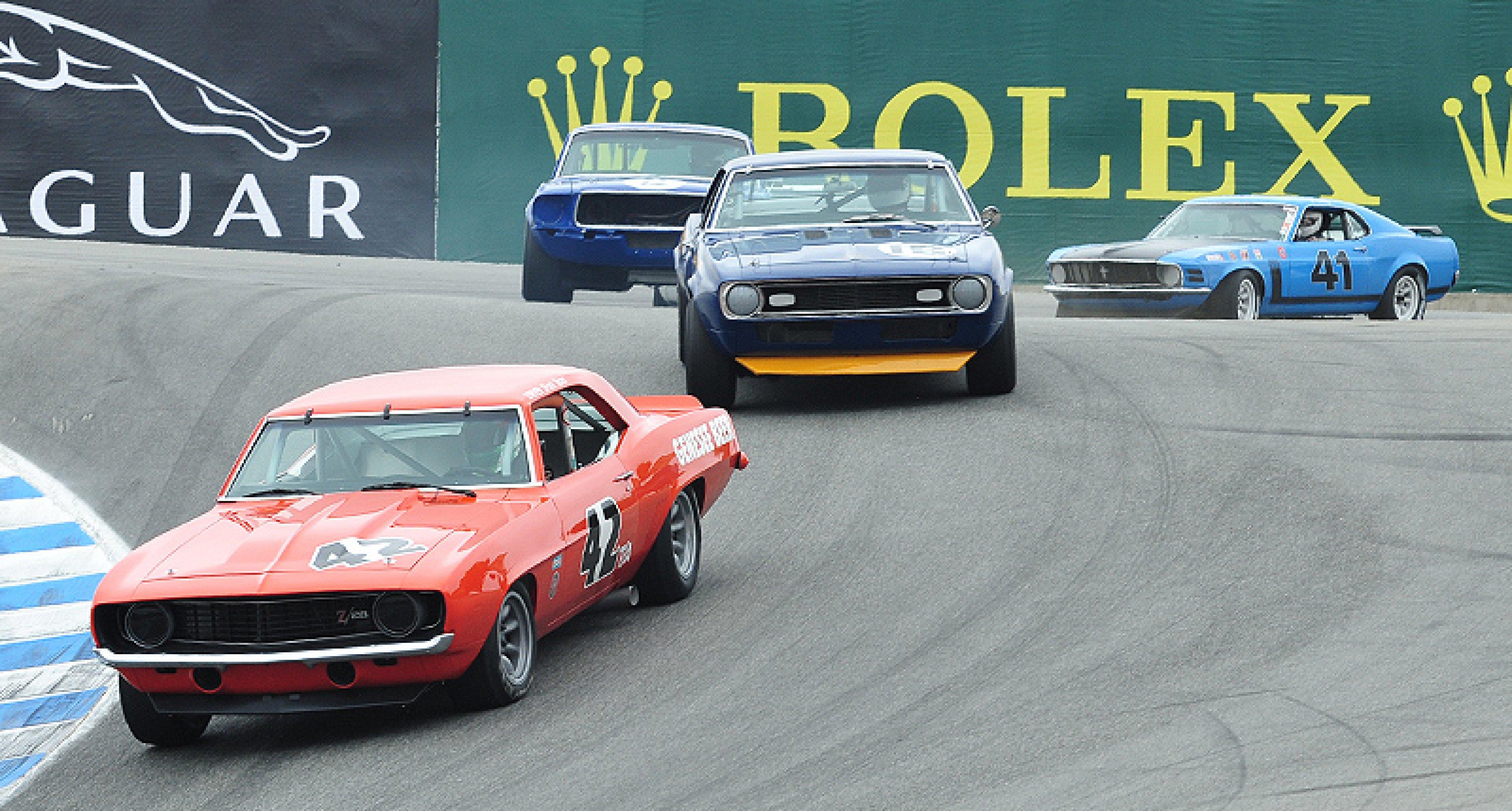 2011 Rolex Monterey Motorsports Reunion  at Mazda Raceway Laguna Seca