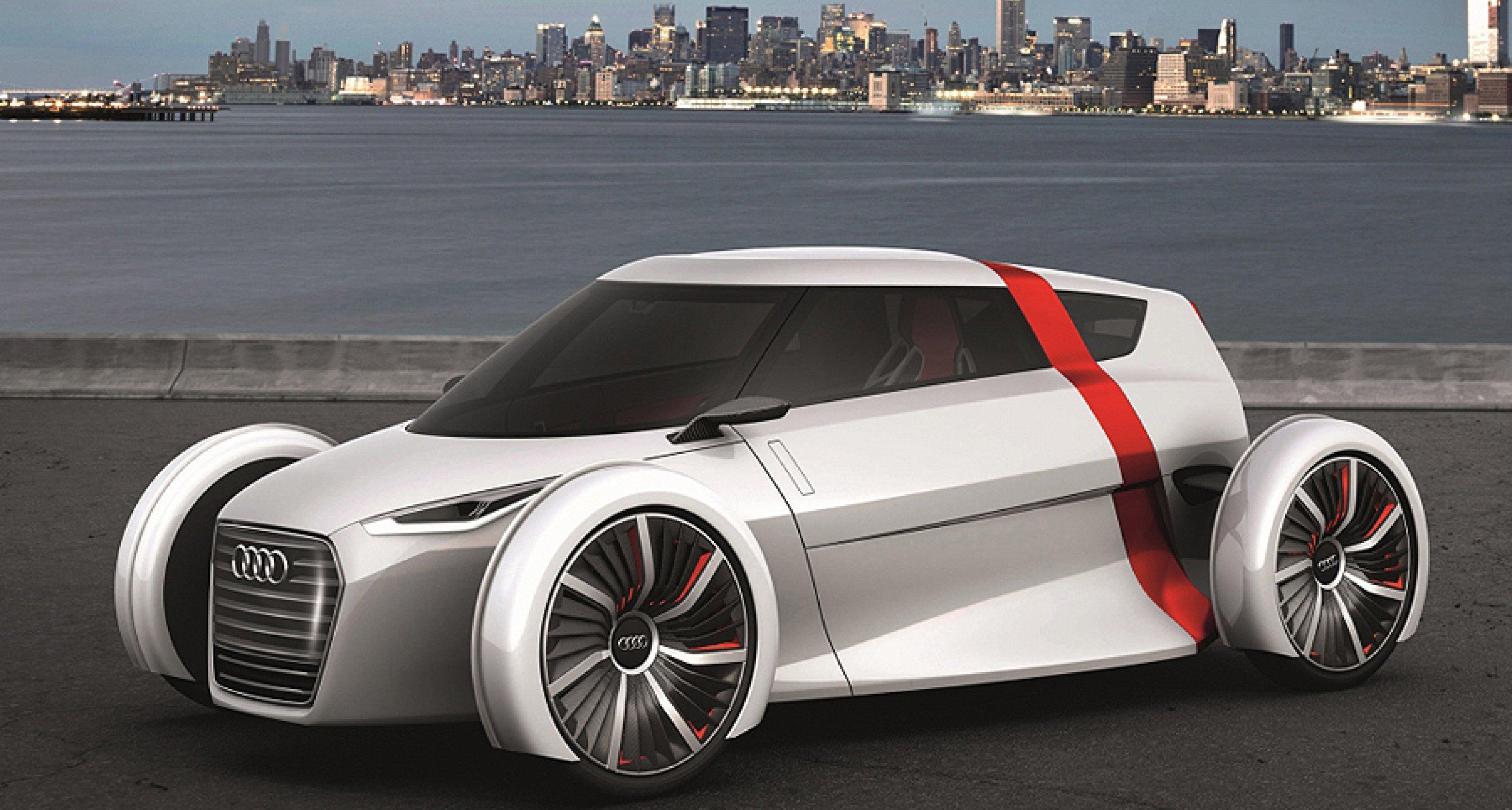 Audi Urban Concept Spyder: Sonnenbad in der Stadt