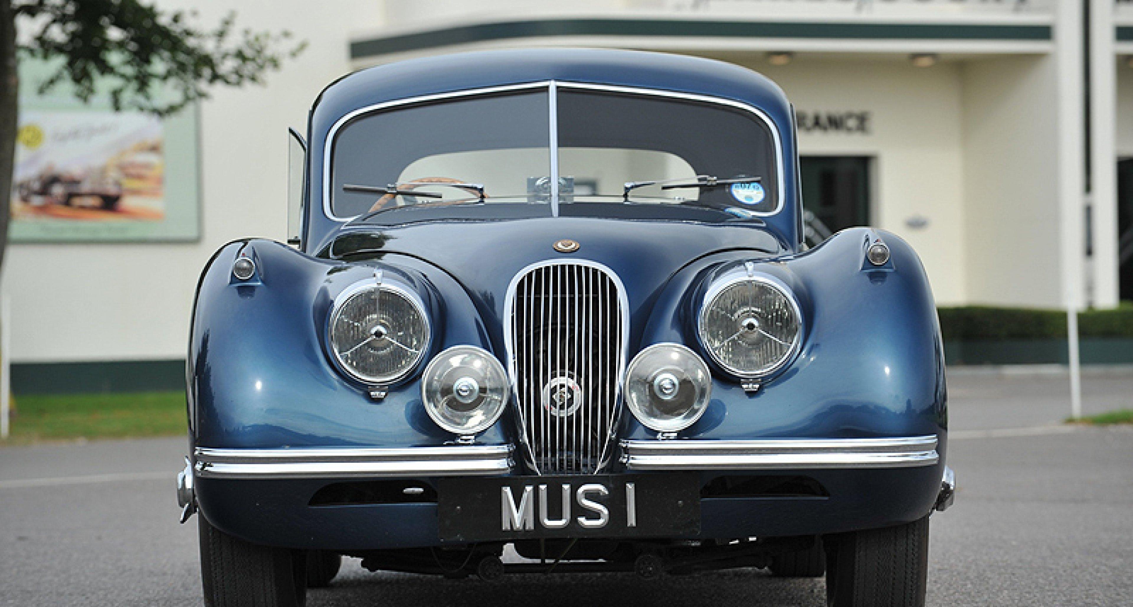 Jaguar XK 120 Coupé