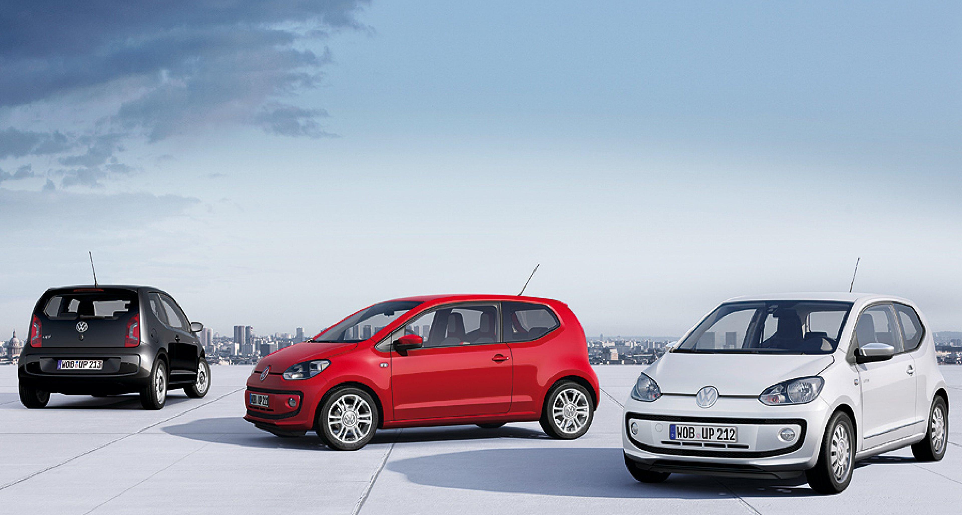 VW Up!: Eine kleine Familie
