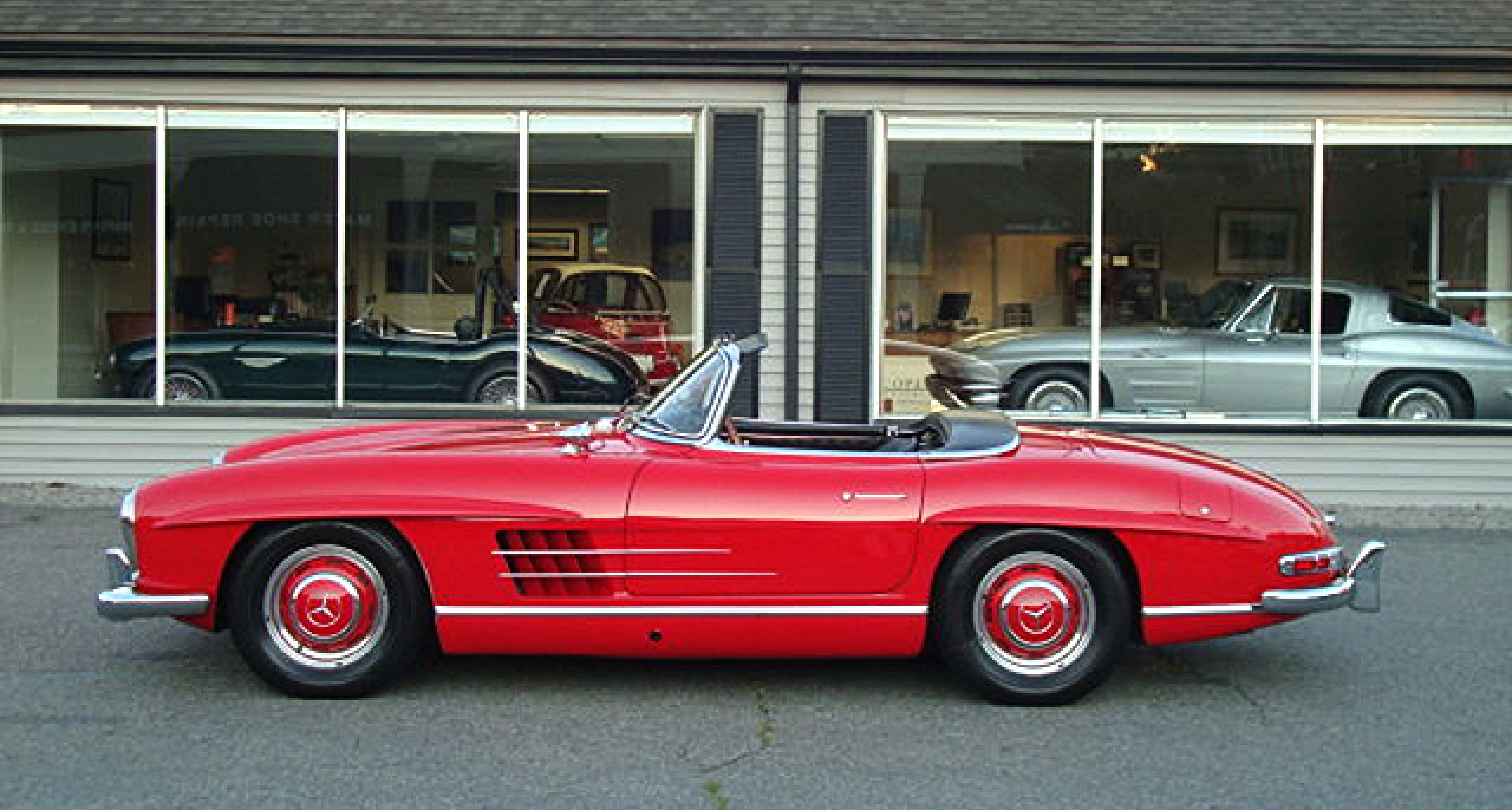 """Editor's Choice: Mercedes  300 SL Roadster """"Matching Numbers"""""""