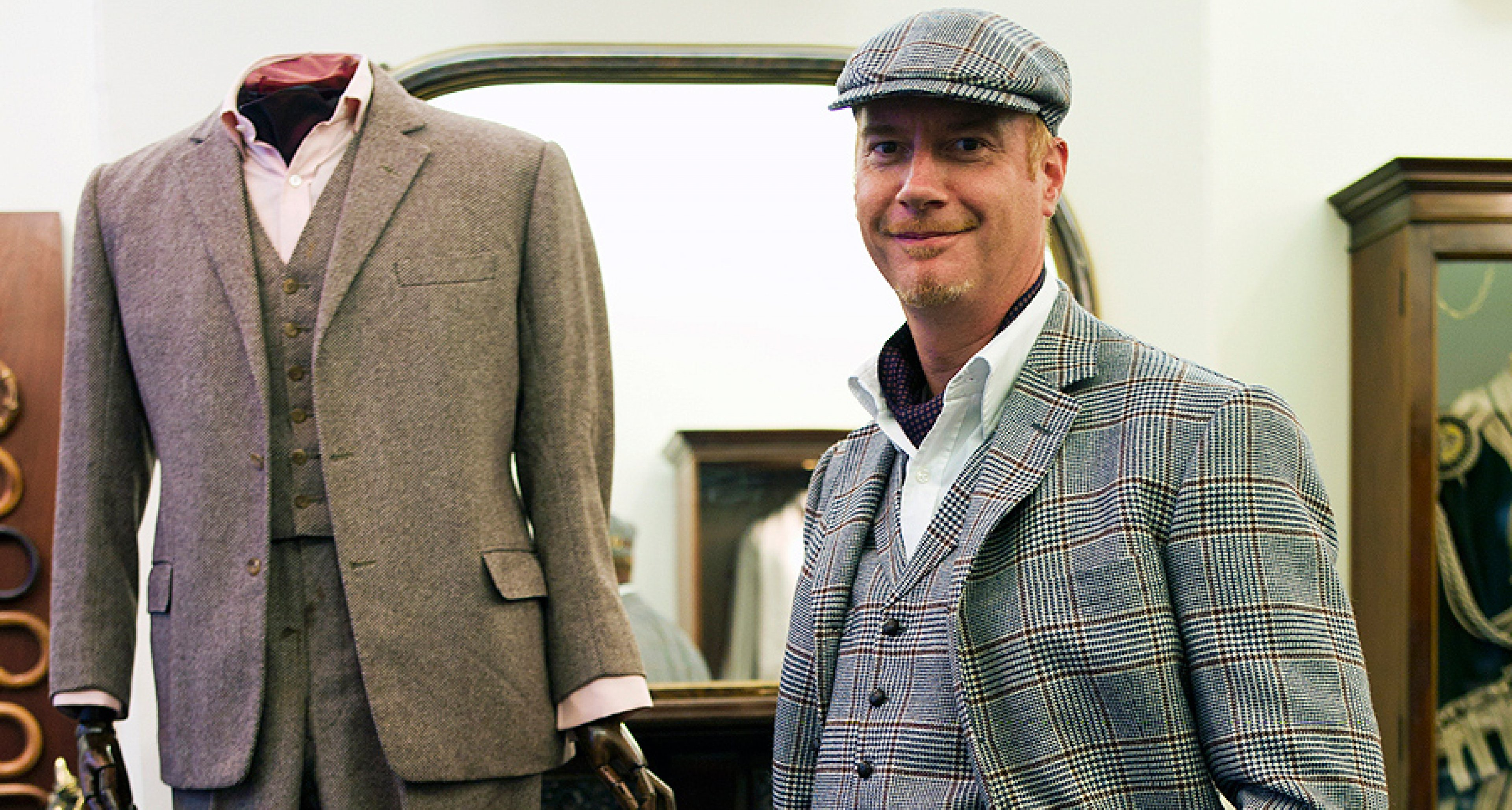 The Bespoke Driving Suit from Henry Poole