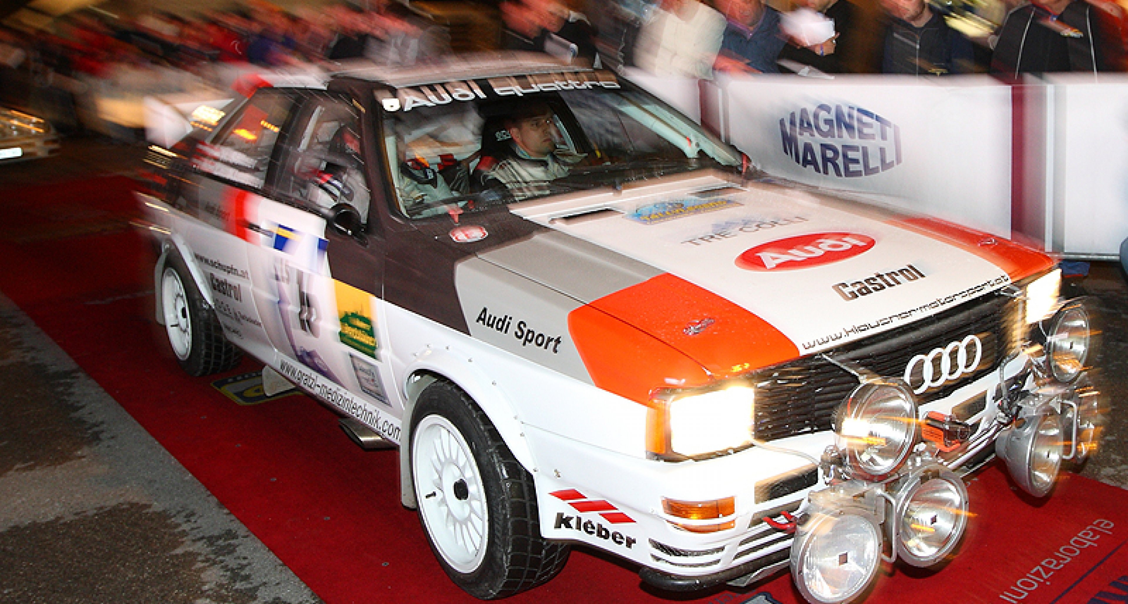 Rallylegend San Marino 2011: Kreuz und quer