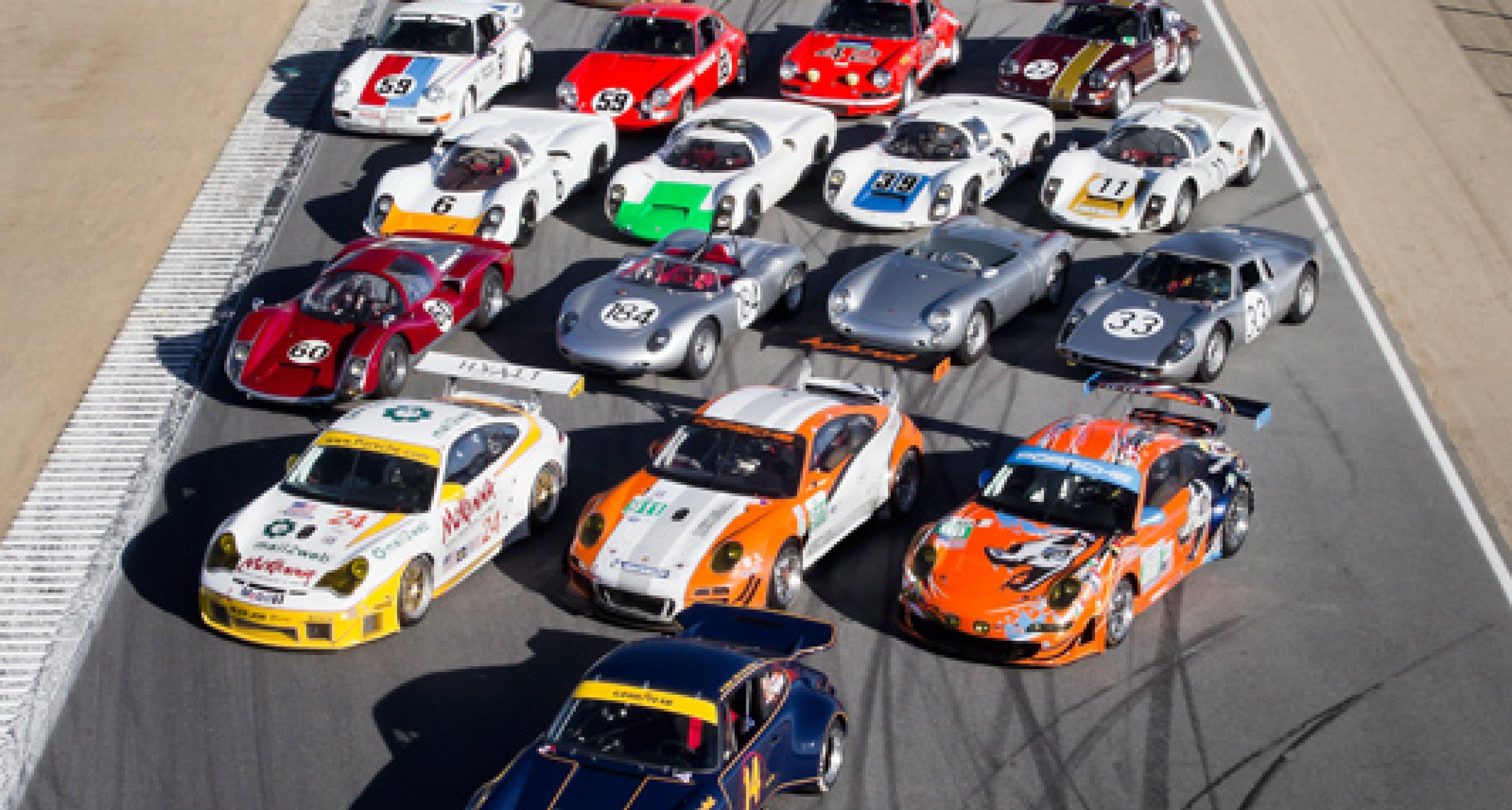 Porsche Rennsport Reunion IV: Latest video footage from California