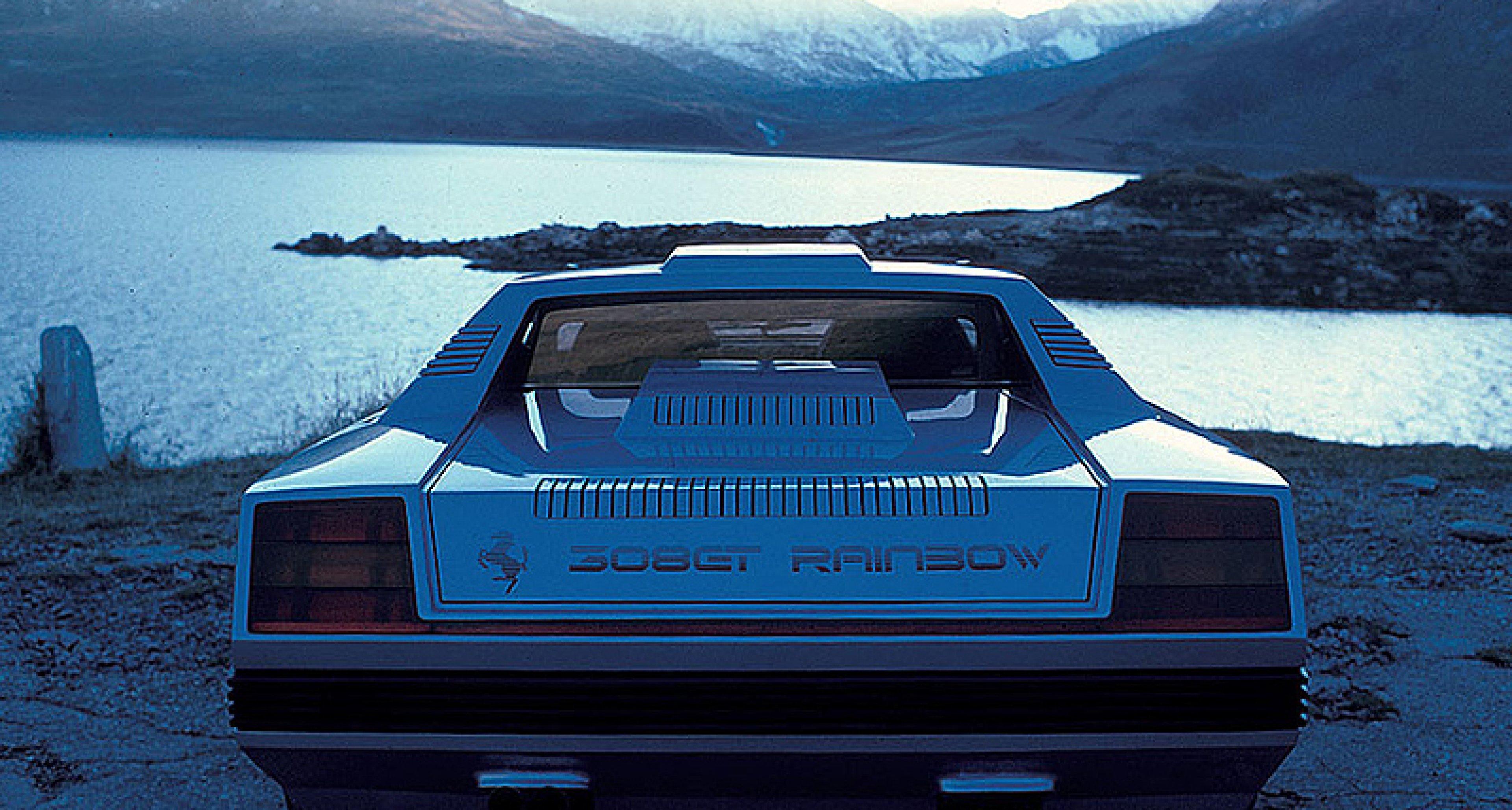 Classic Concepts 1976 Ferrari Rainbow Classic Driver Magazine