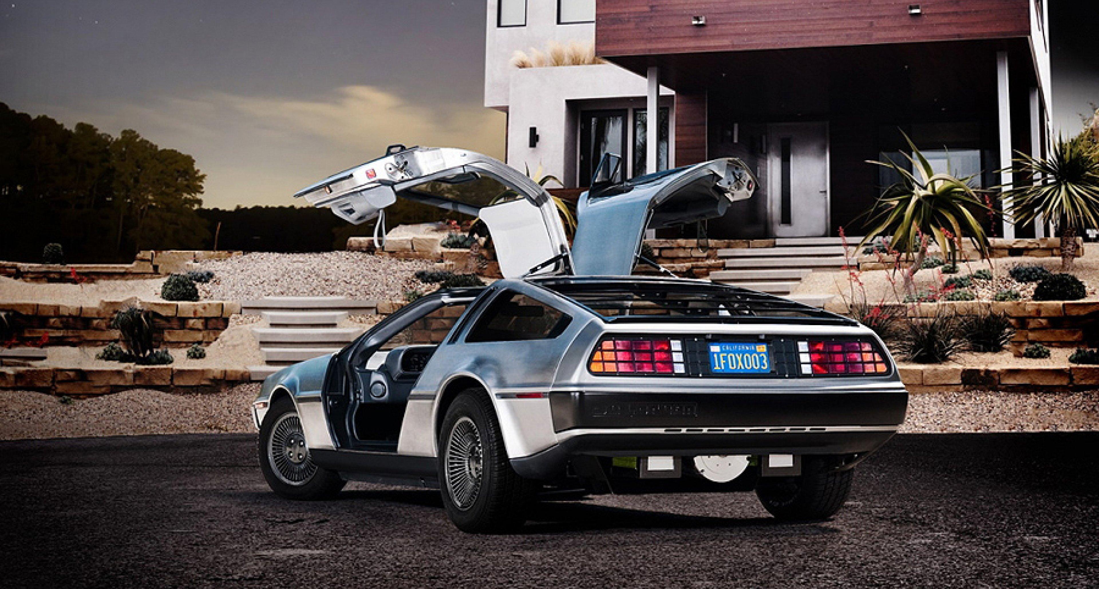 DeLorean DMC-12 Electric: Back from the Future