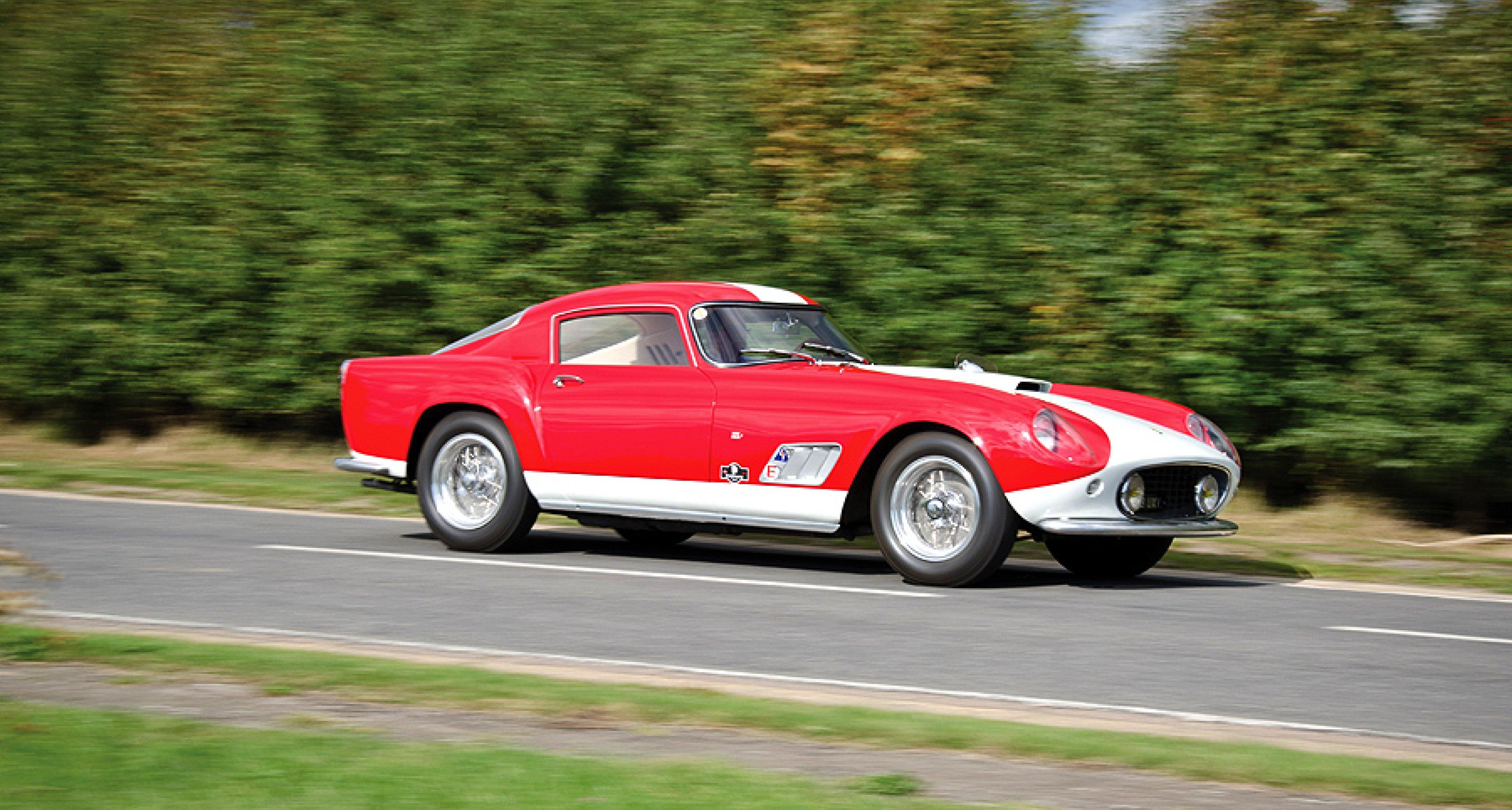 Ausfahrt im Ferrari 250 GT LWB Tour de France