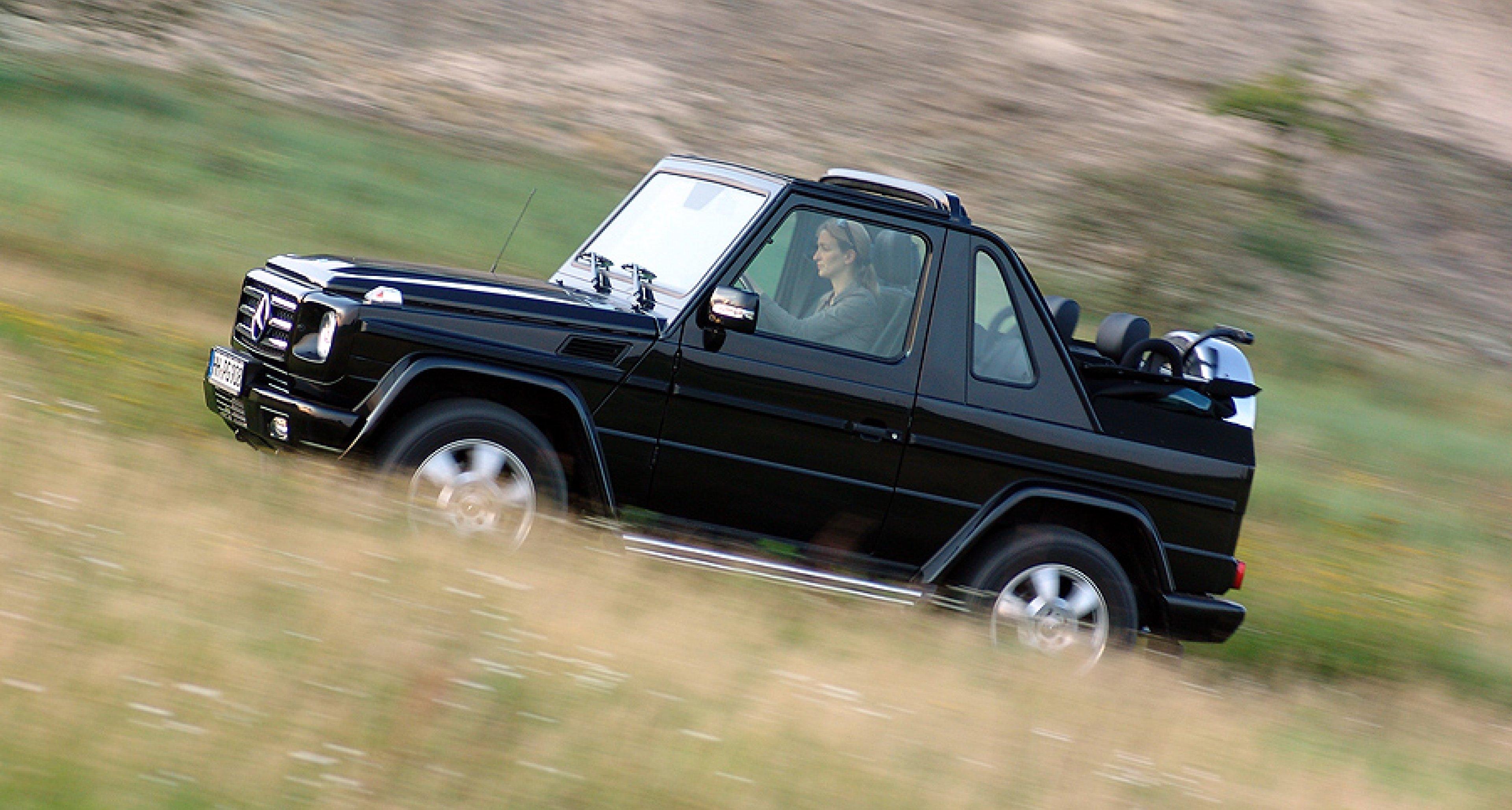 Mercedes-Benz G-Klasse Cabriolet: Daktaris Traum