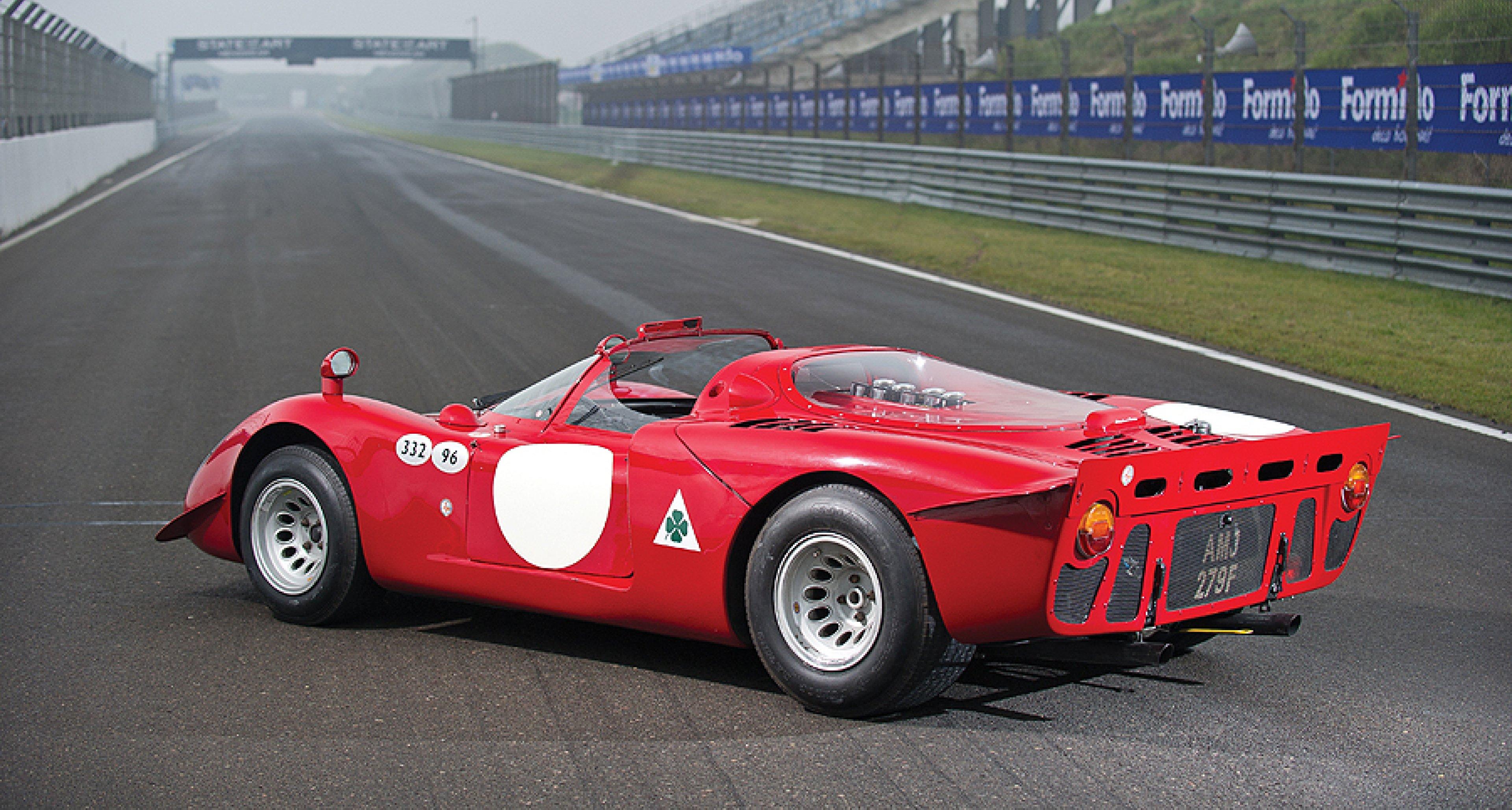 Alfa Romeo Tipo 33/2 'Daytona' to be auctioned in Monaco