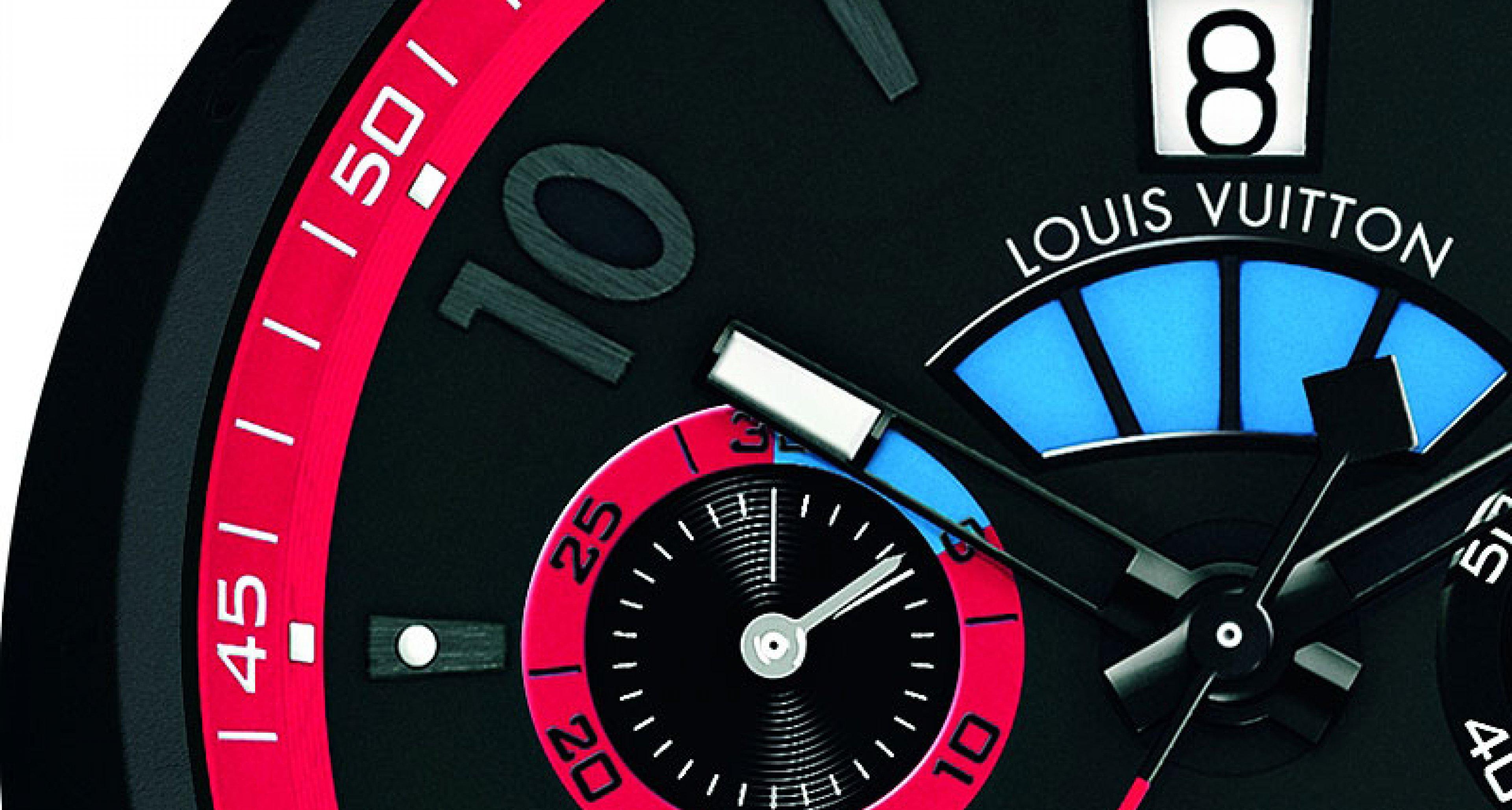 On a (drum) roll: The Louis Vuitton 'Tambour Regatta America's Cup'