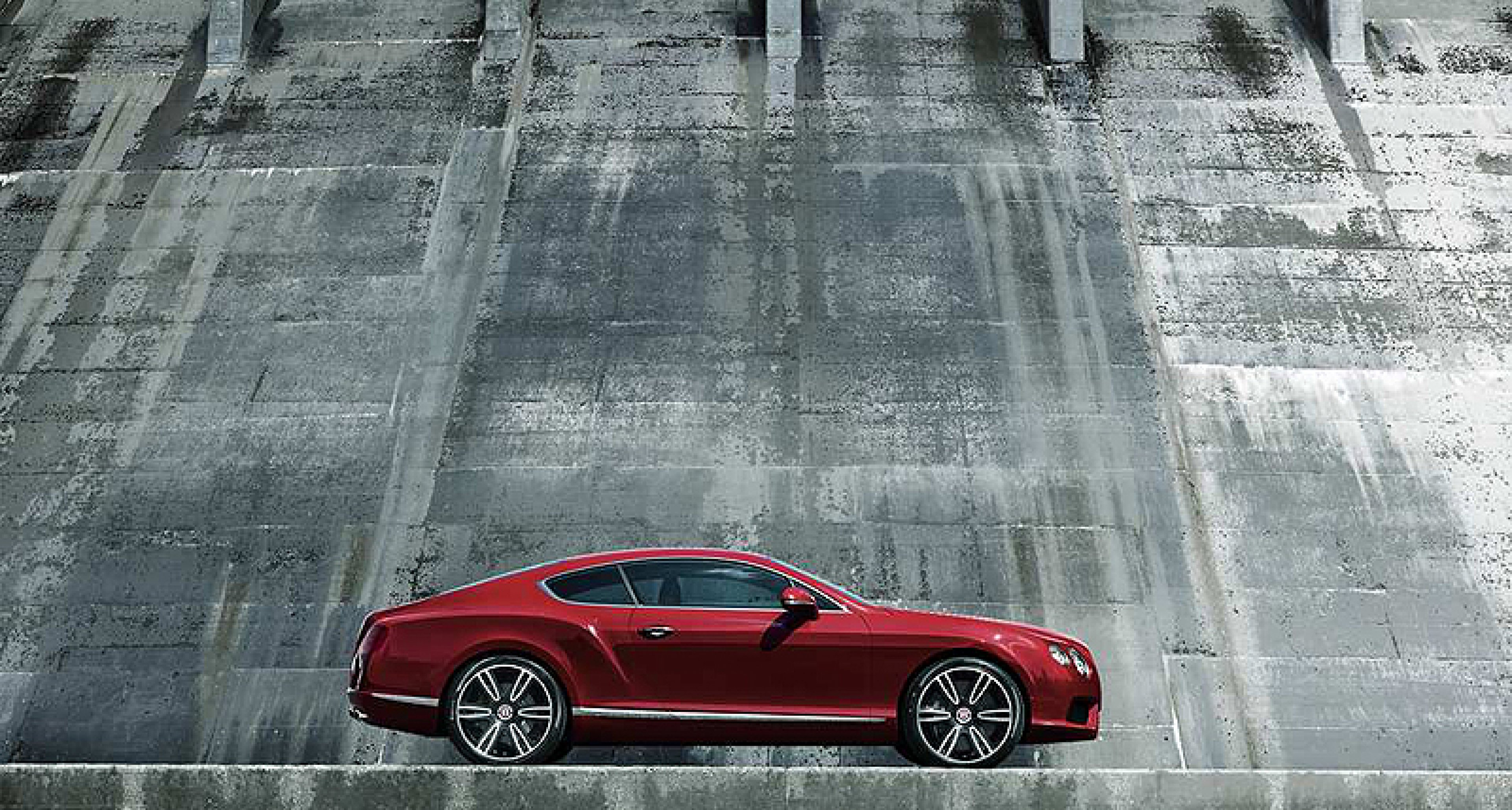 The new Bentley Continental V8