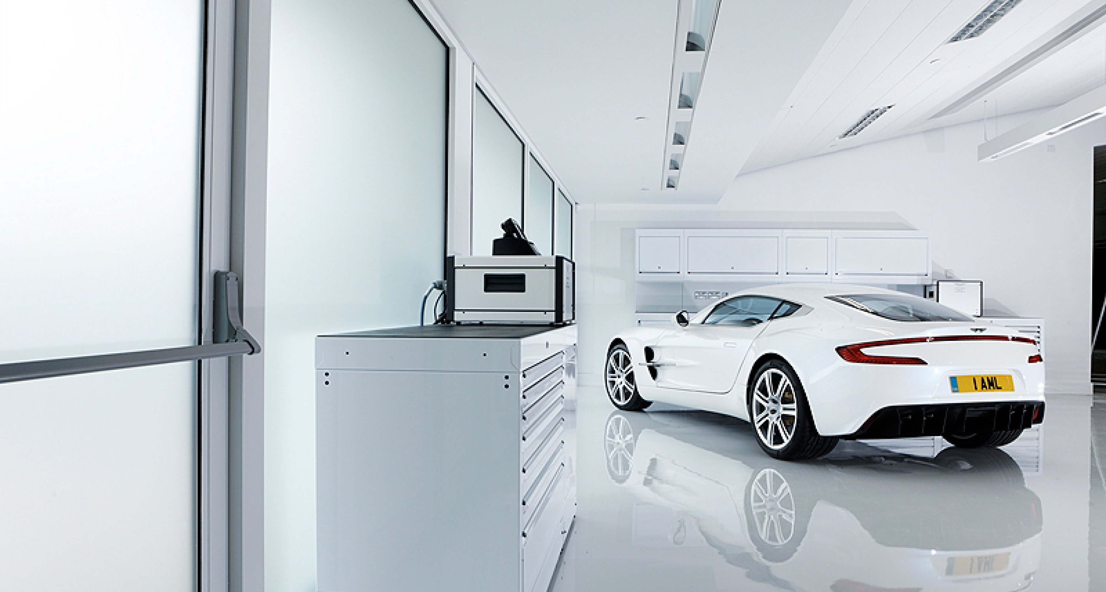 Behind the scenes with the Aston Martin One-77