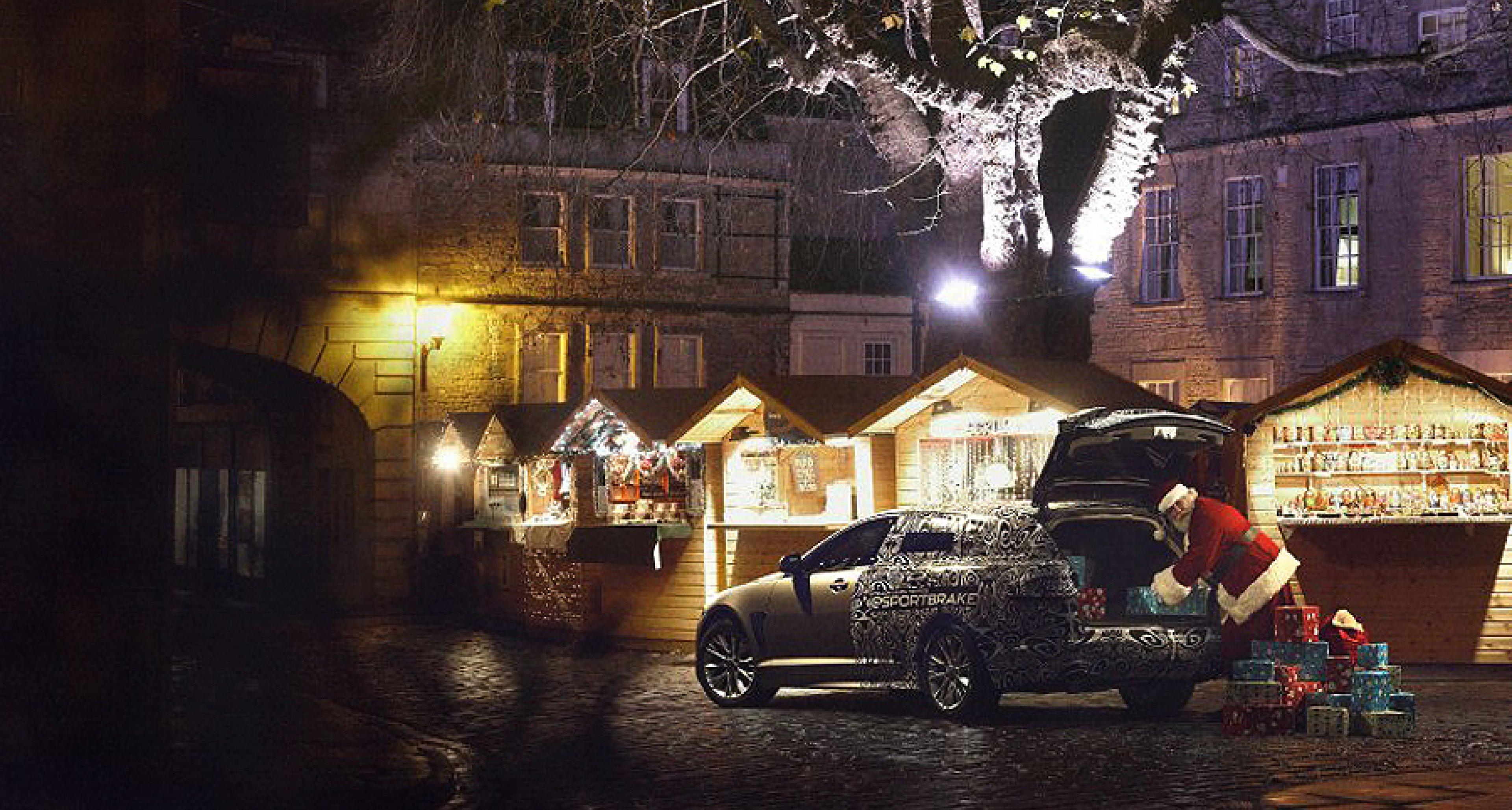 Santa C. testet den neuen Jaguar XF Sportbrake