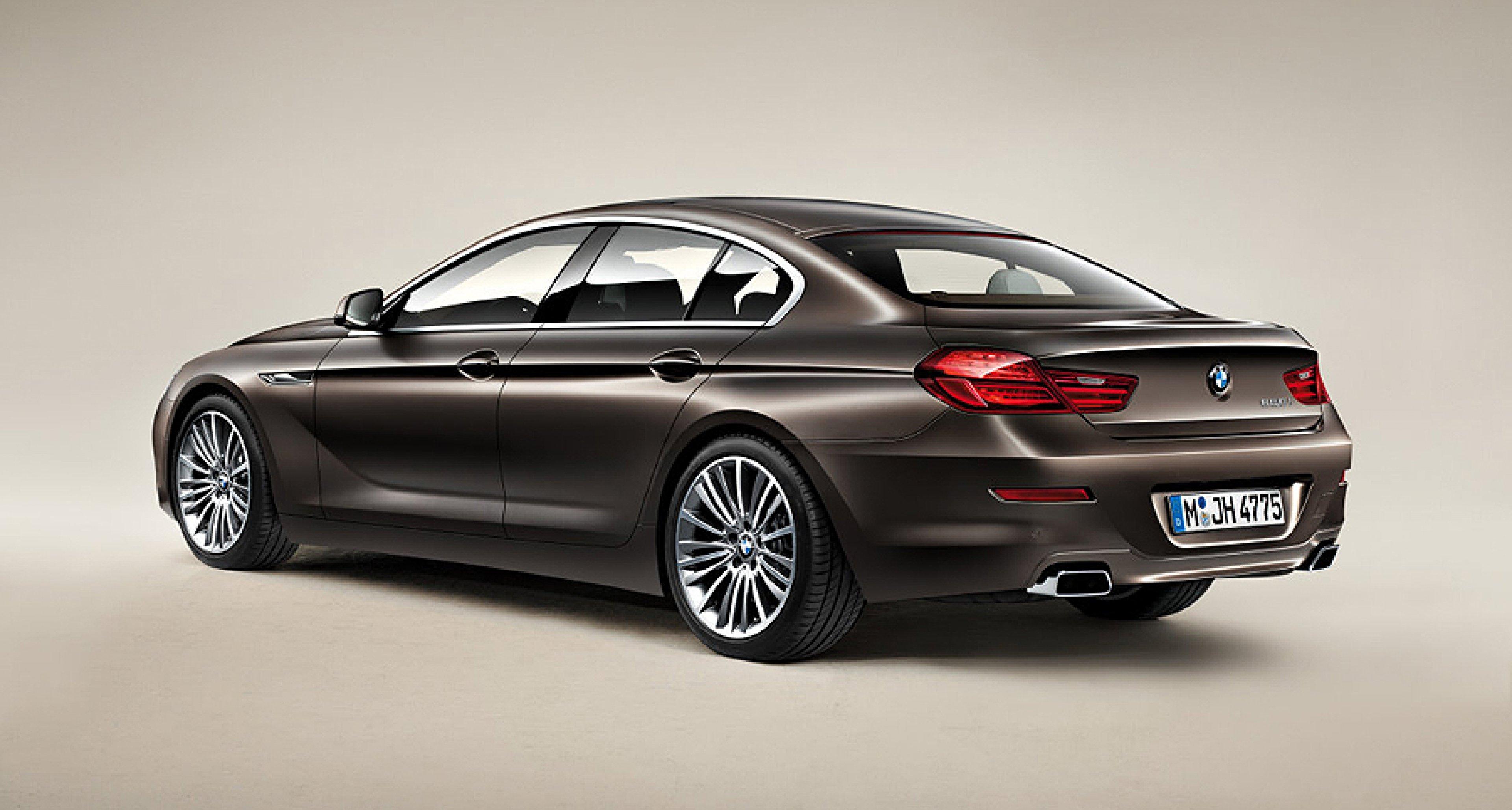 BMW 6er Gran Coupé ab 79.500 Euro