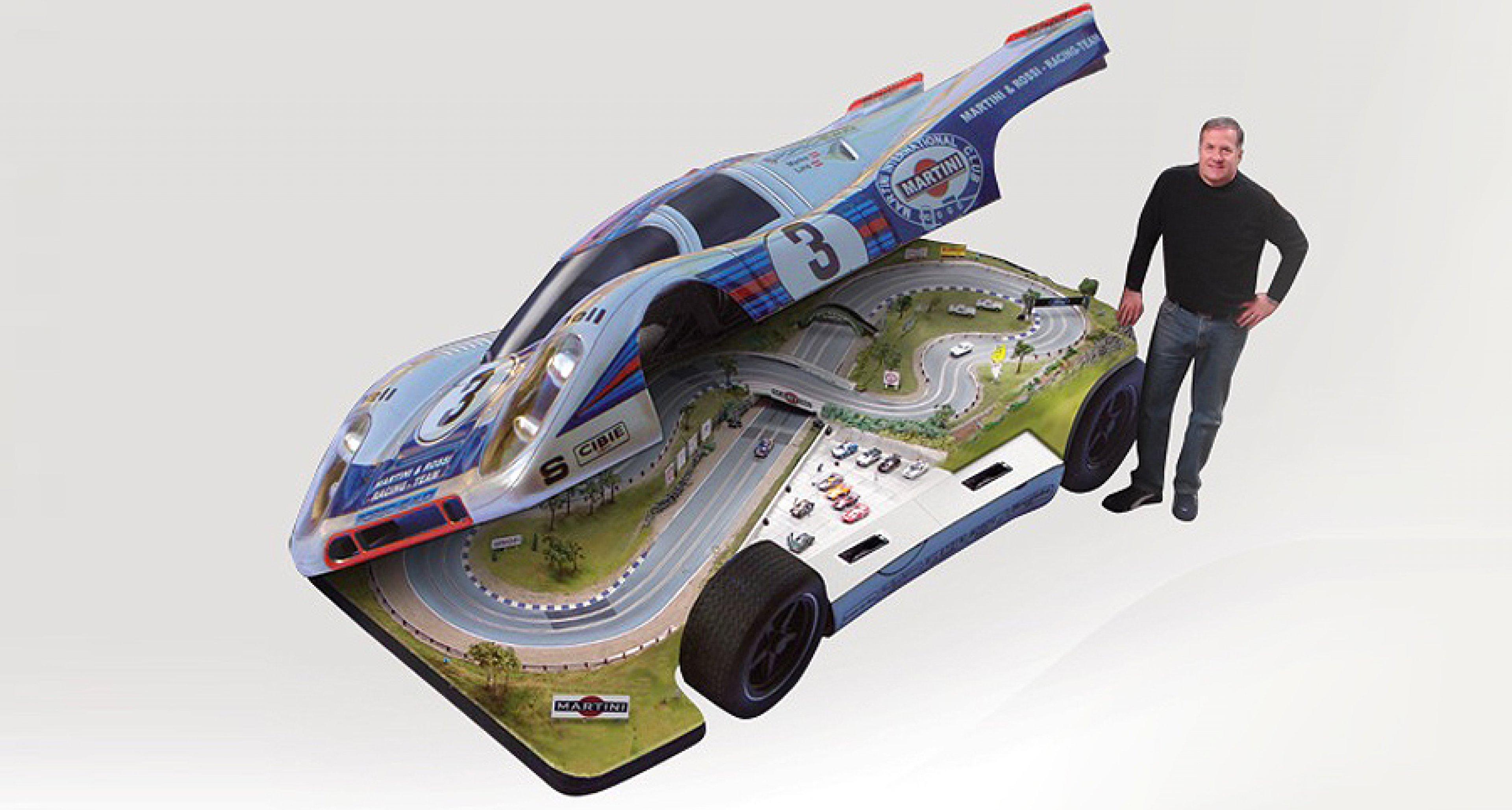 Slot Mods Porsche 917: Die innere Rennbahn