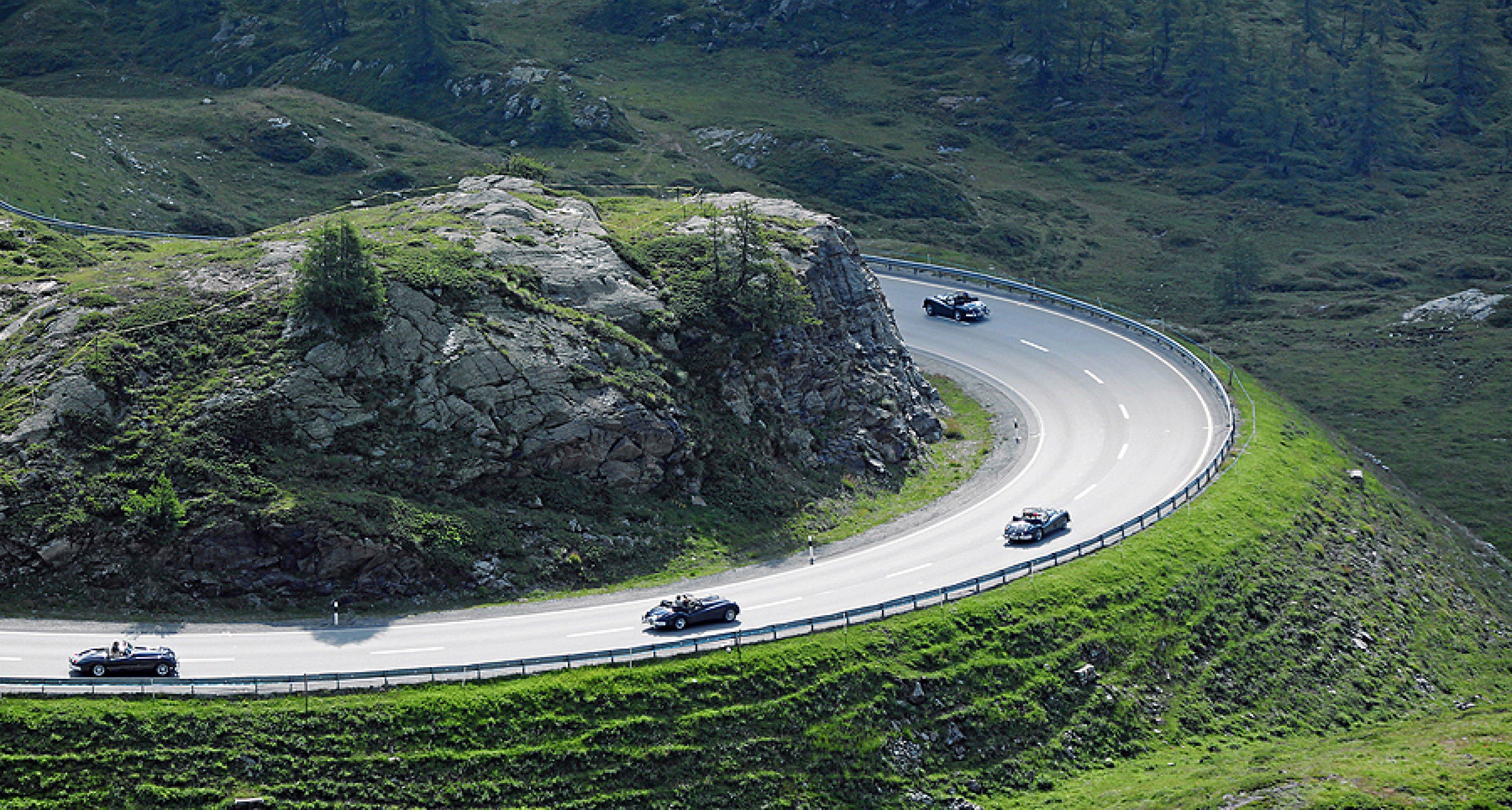 British Classic Car Meeting St. Moritz: Neue Route, neues Feld