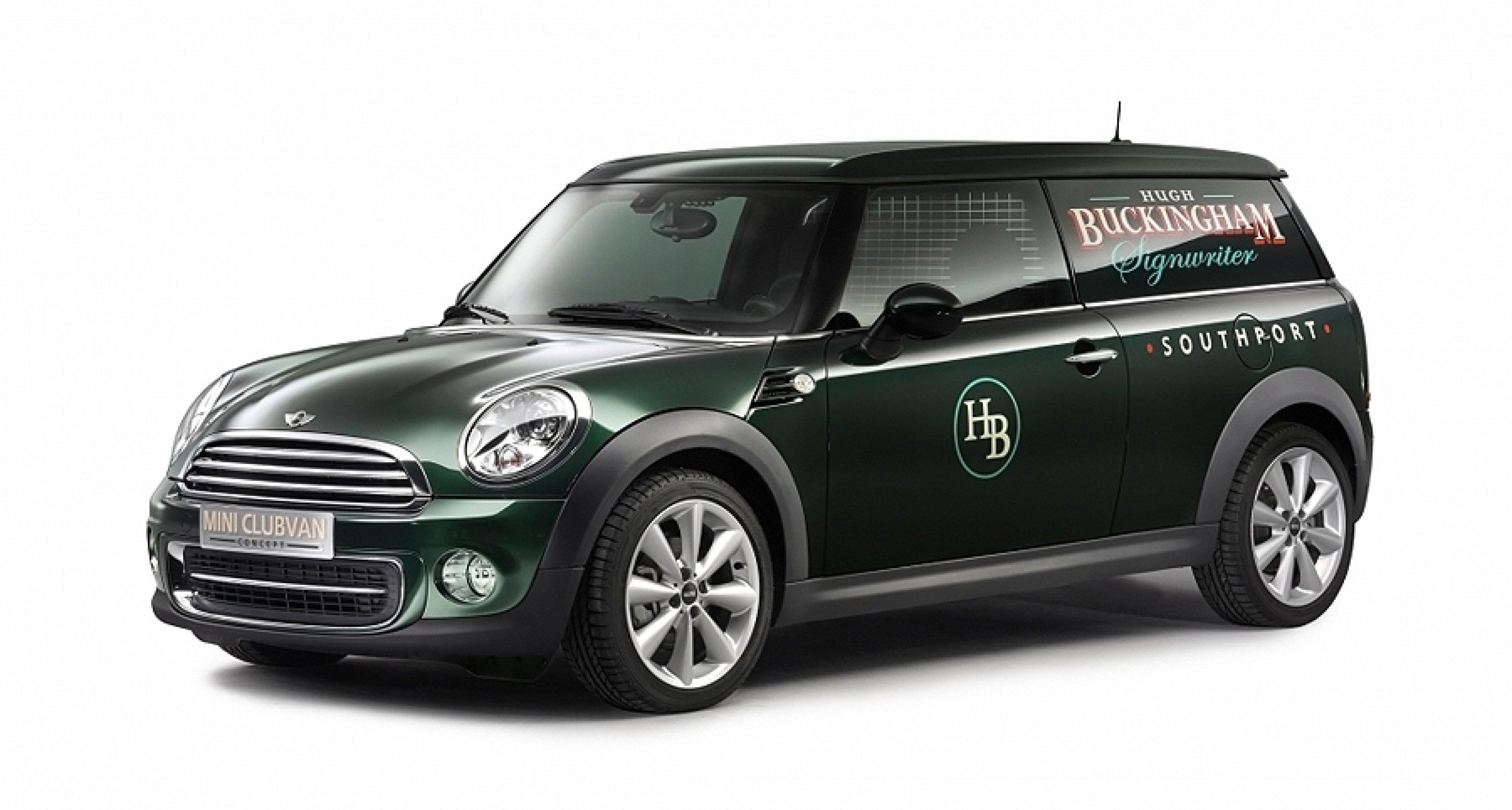 Mini Clubvan Concept Small And Businesslike Classic Driver Magazine