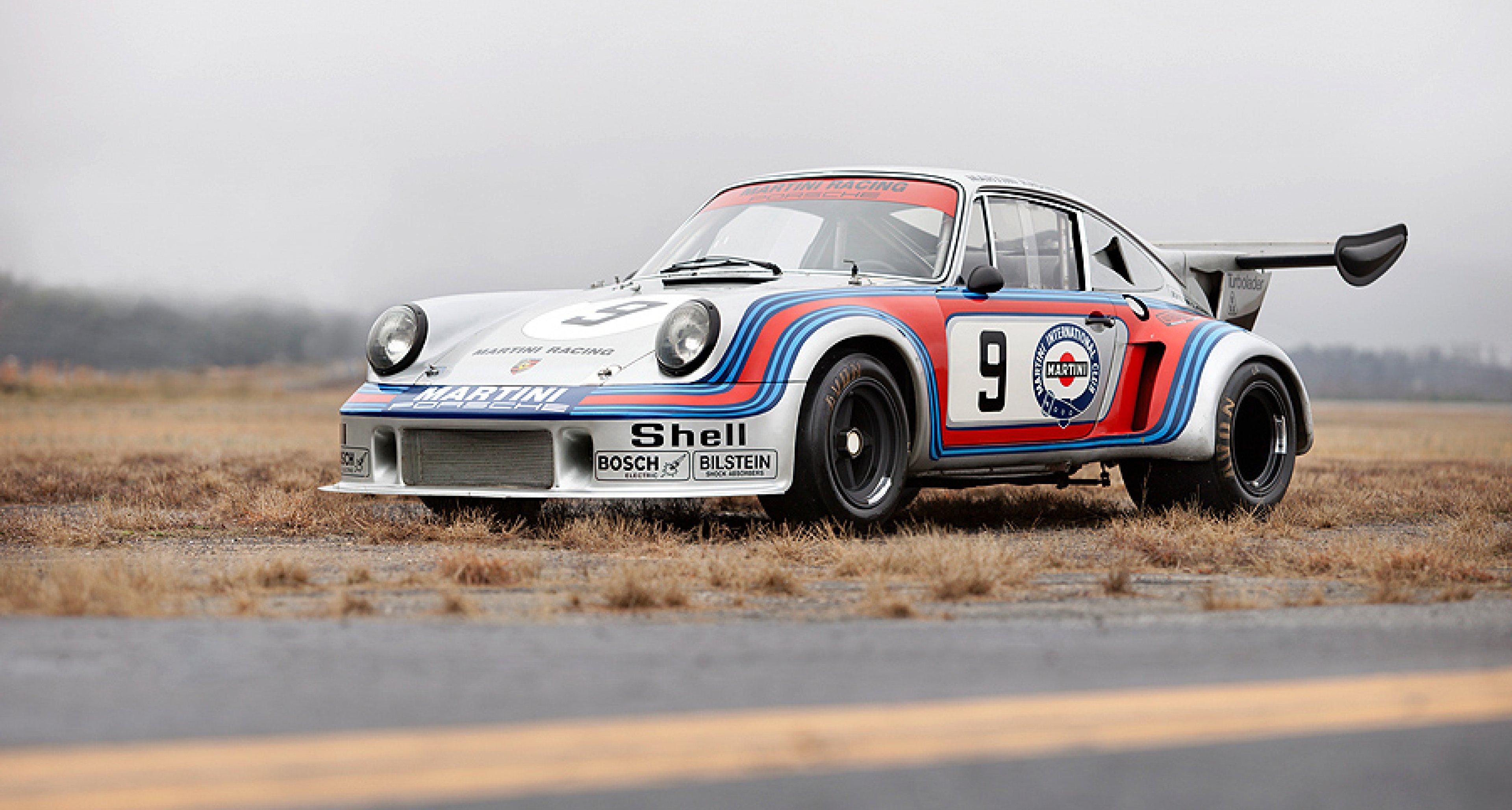 Gooding & Company versteigert seltenen Martini Porsche 911 RSR Turbo 2.14