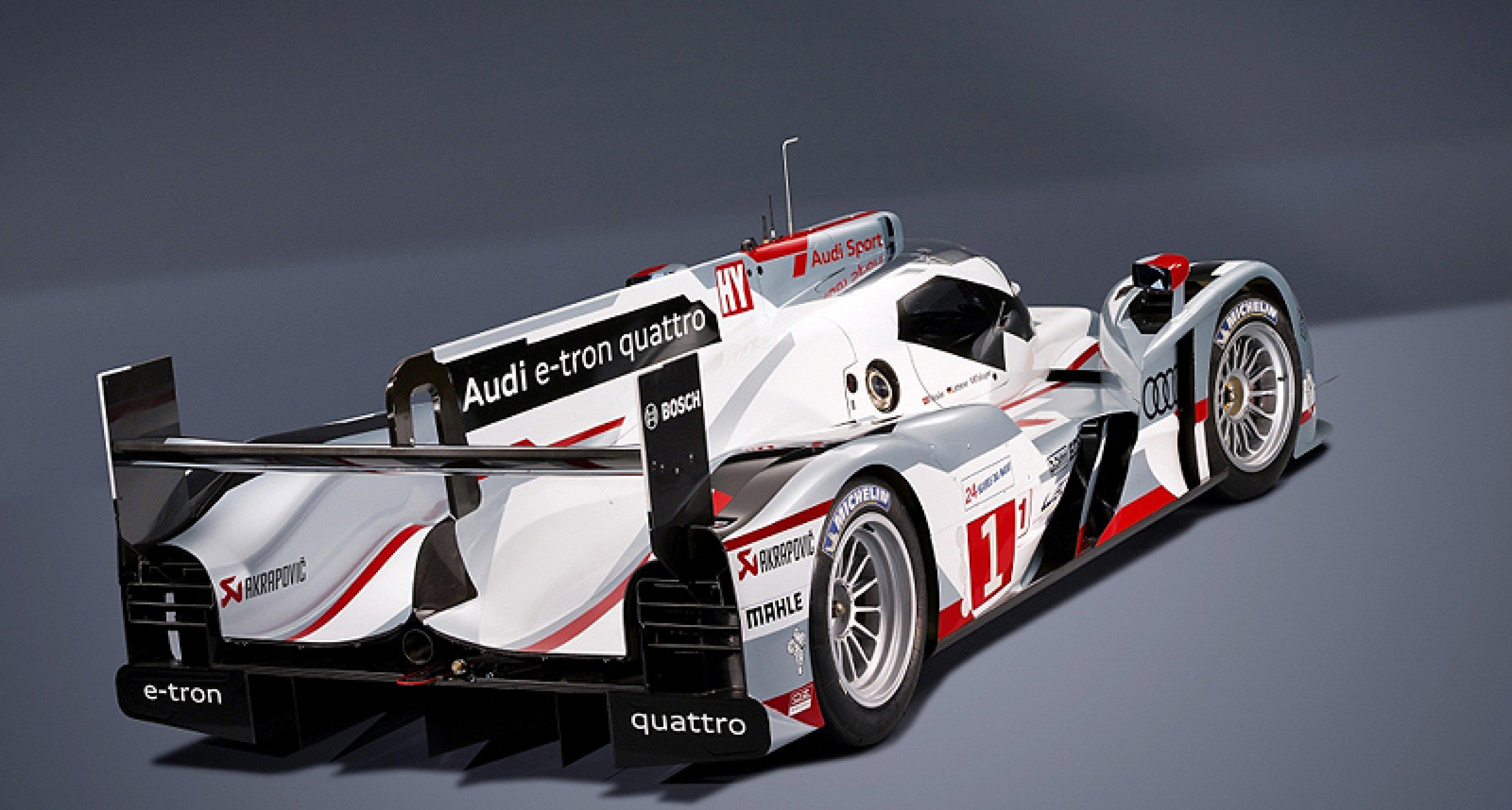 Audi R18 e-tron quattro: Hybrid-Technik für die Serie