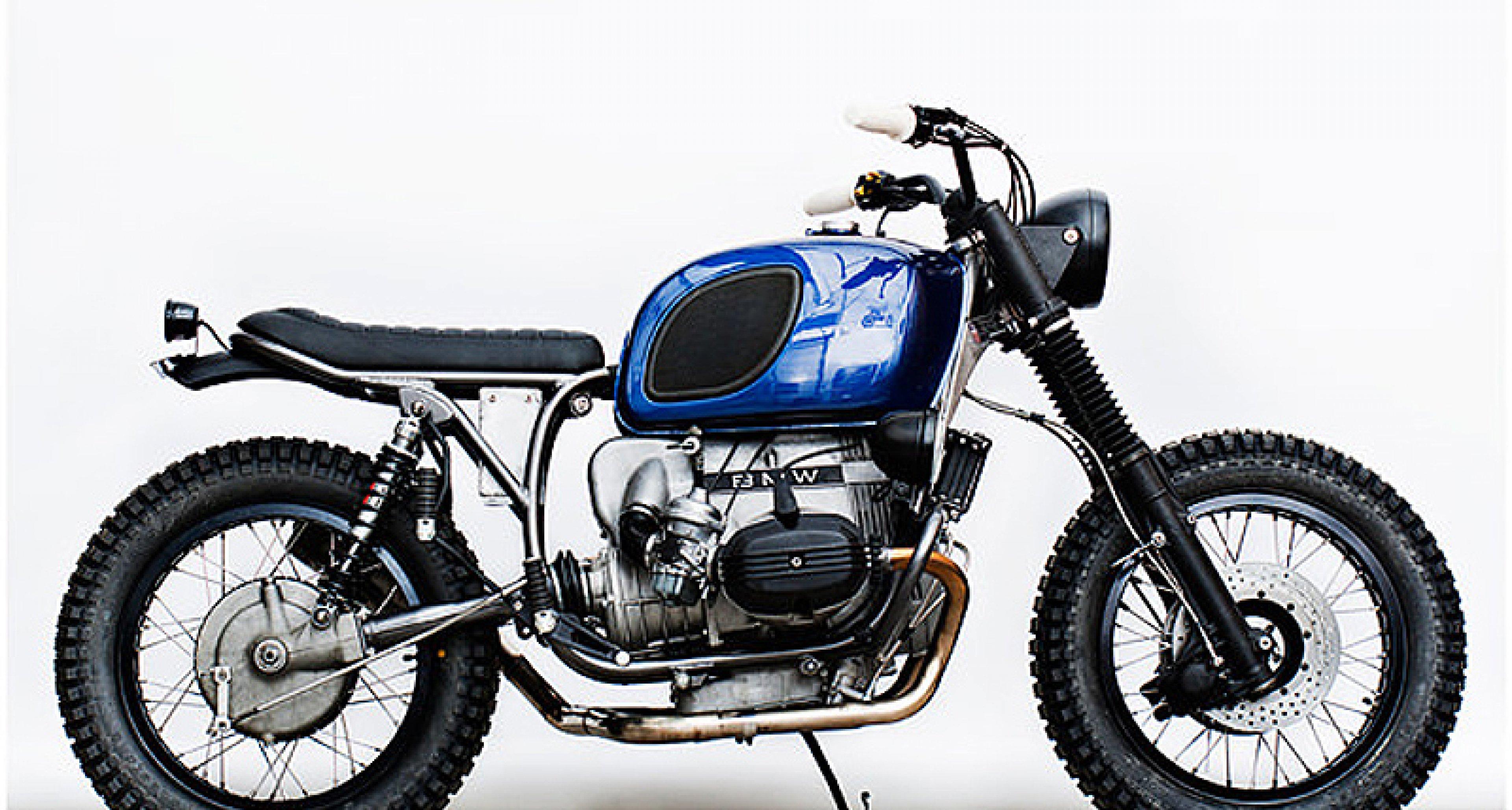Wrenchmonkees BMW R100 RT: Danish Dynamite