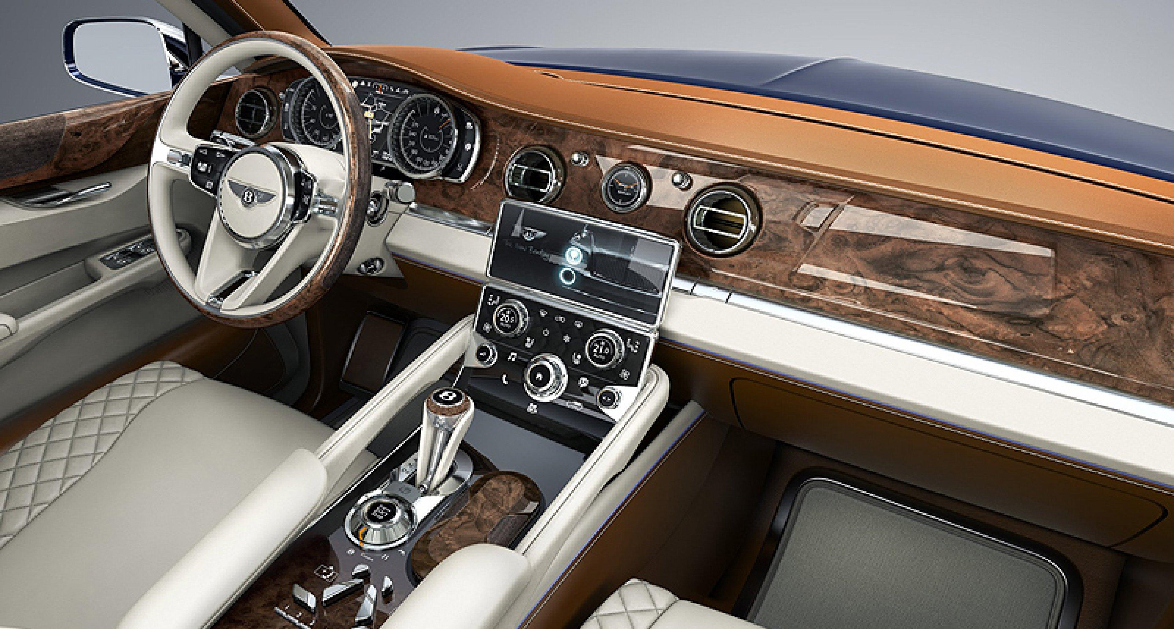 Bentley EXP 9F: Alles andere als dezent