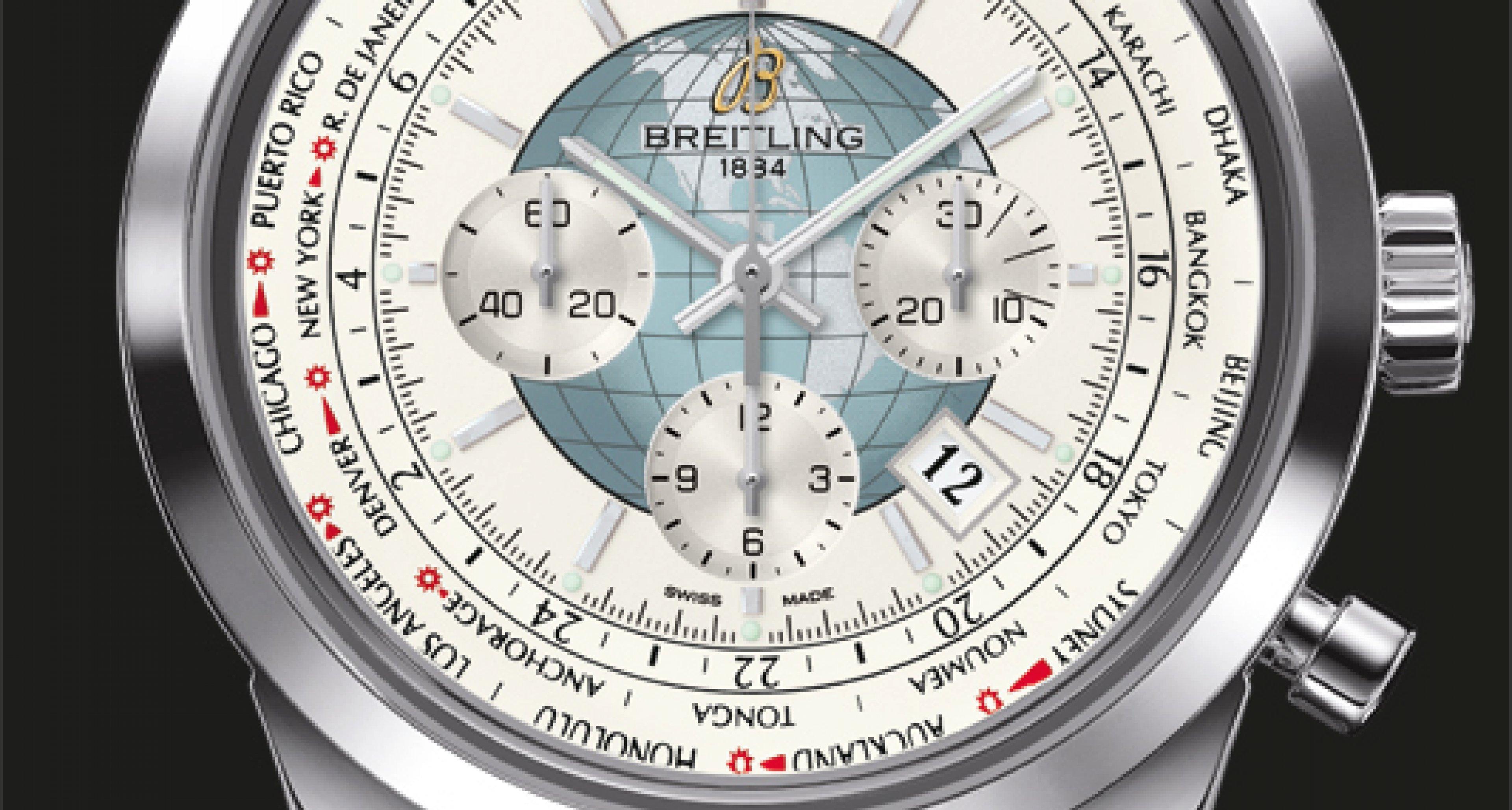 Breitling Transocean Unitime: Kosmopolit