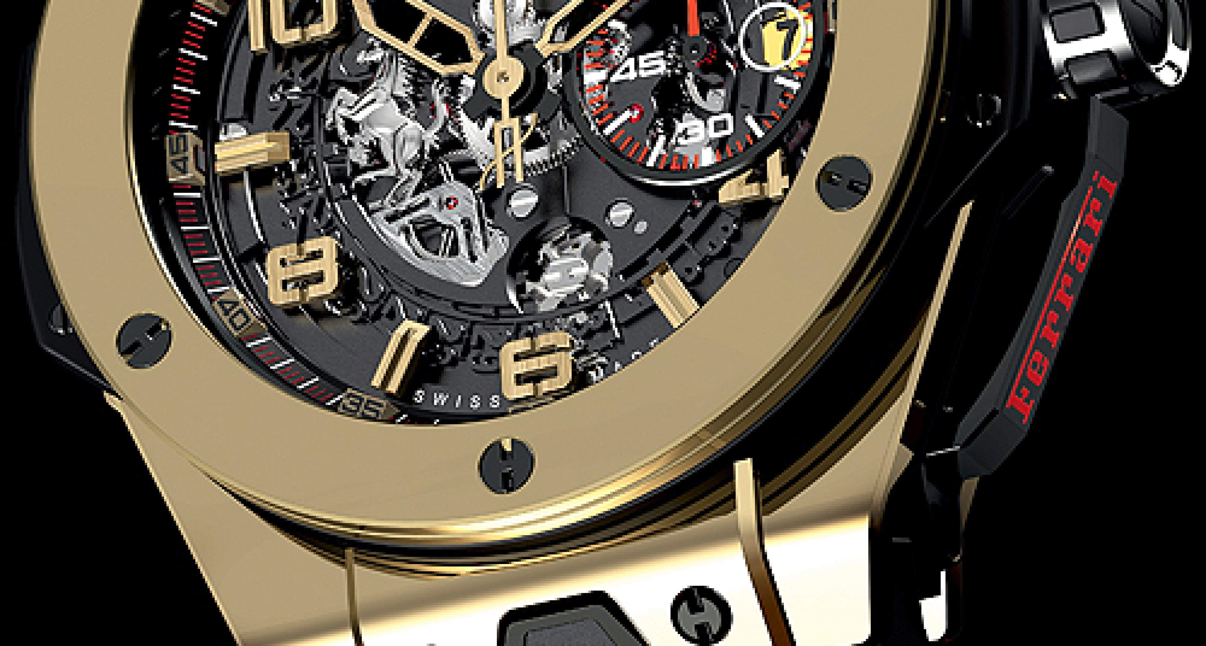 Hublot Big Bang Ferrari Magic: Magische Ferrari-Uhr