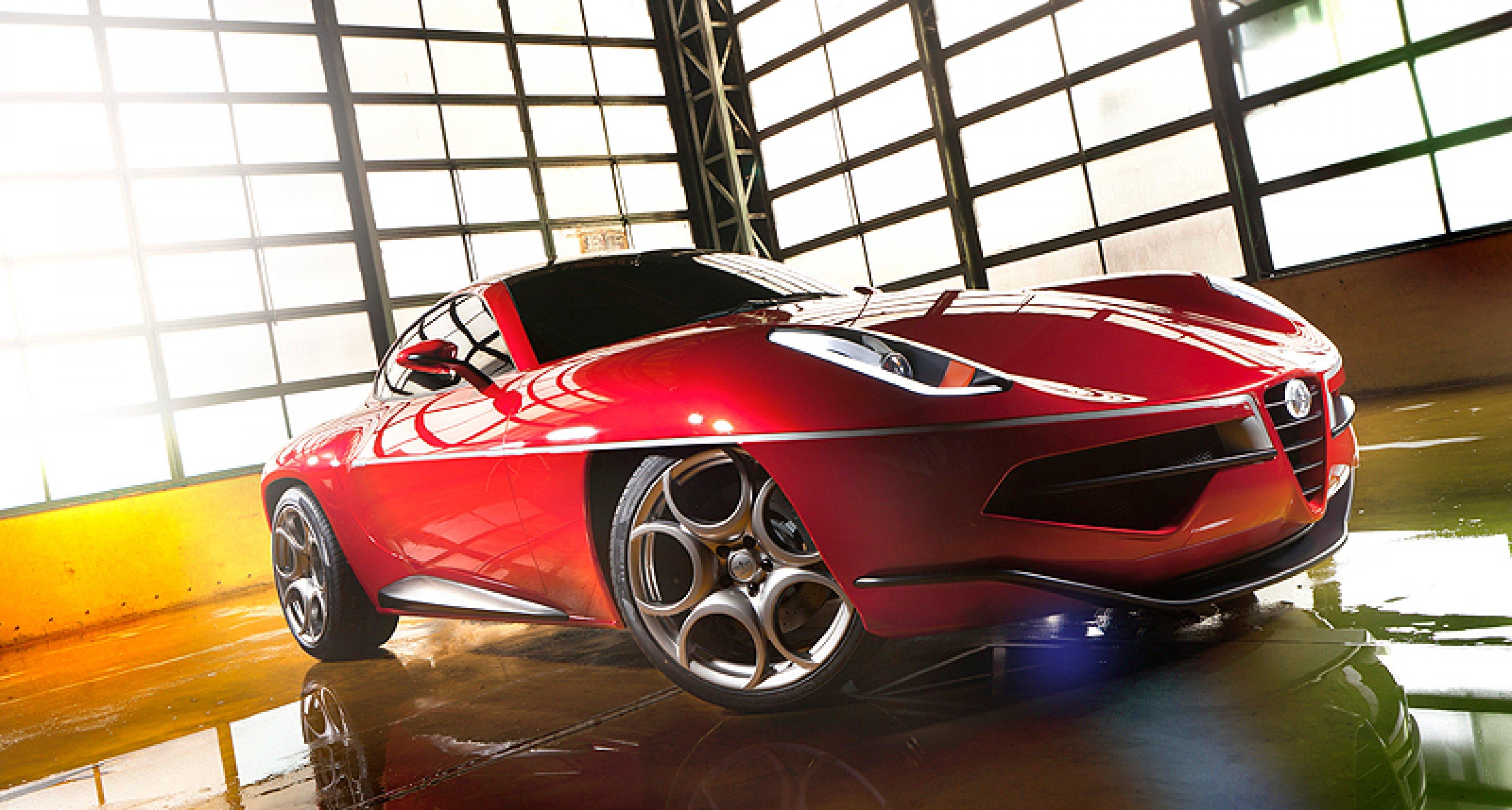 Carrozzeria Touring Disco Volante 2012: Rückkehr der Untertasse