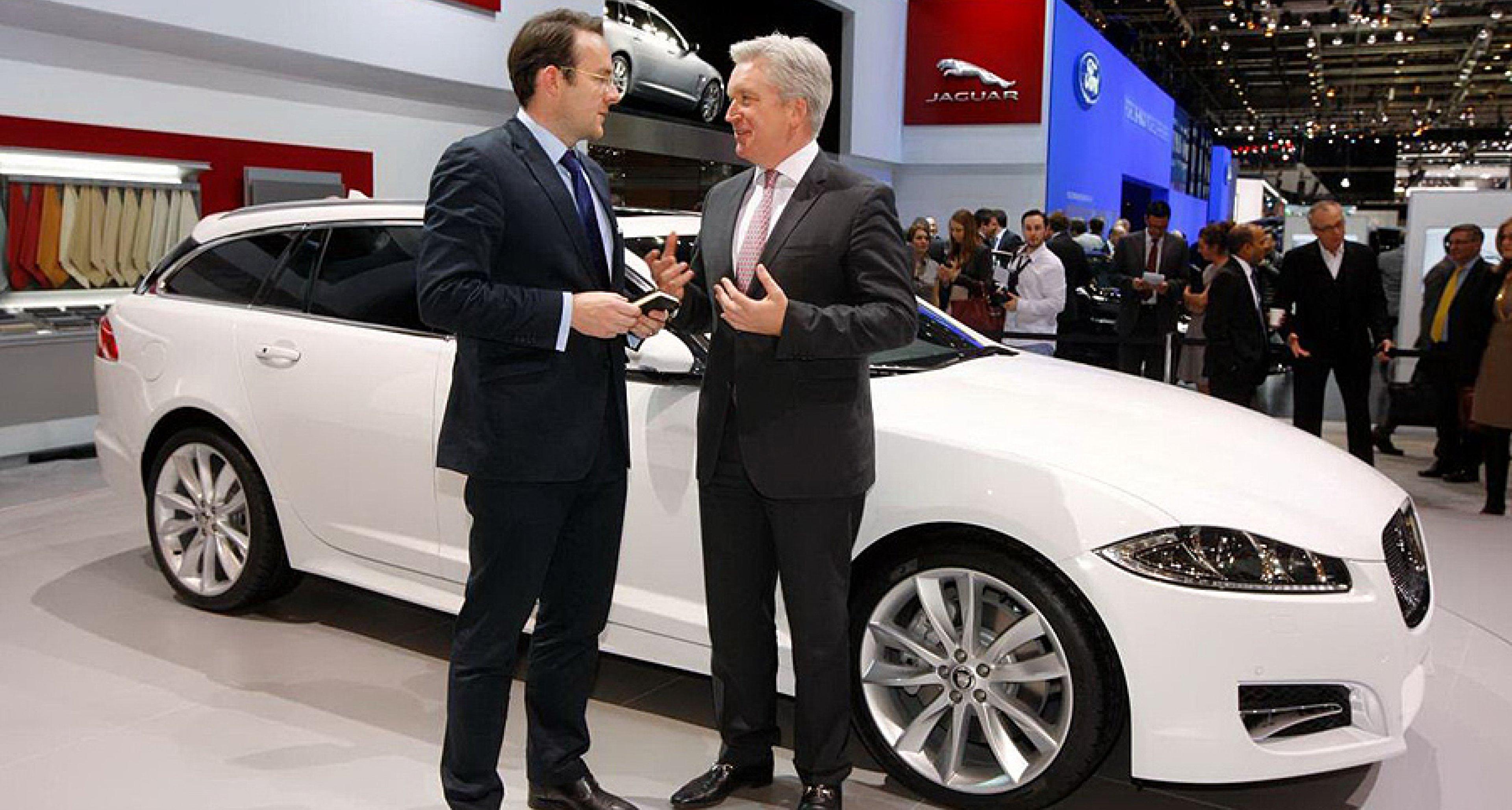 Fünf Fragen an: Adrian Hallmark, Jaguar-Markenchef