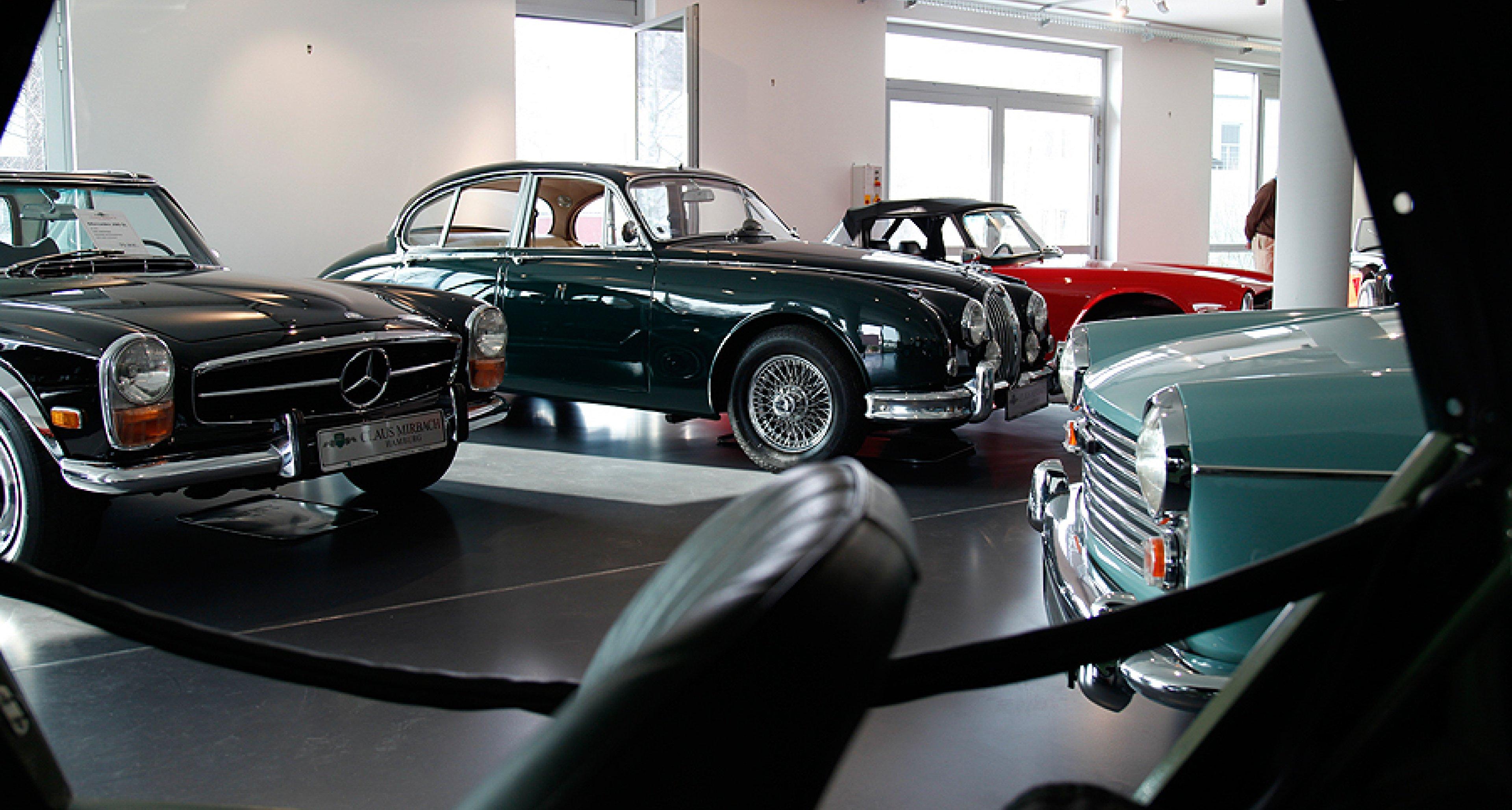 Fünf Fragen an: Claus Mirbach, Classic-Driver-Händler aus Hamburg