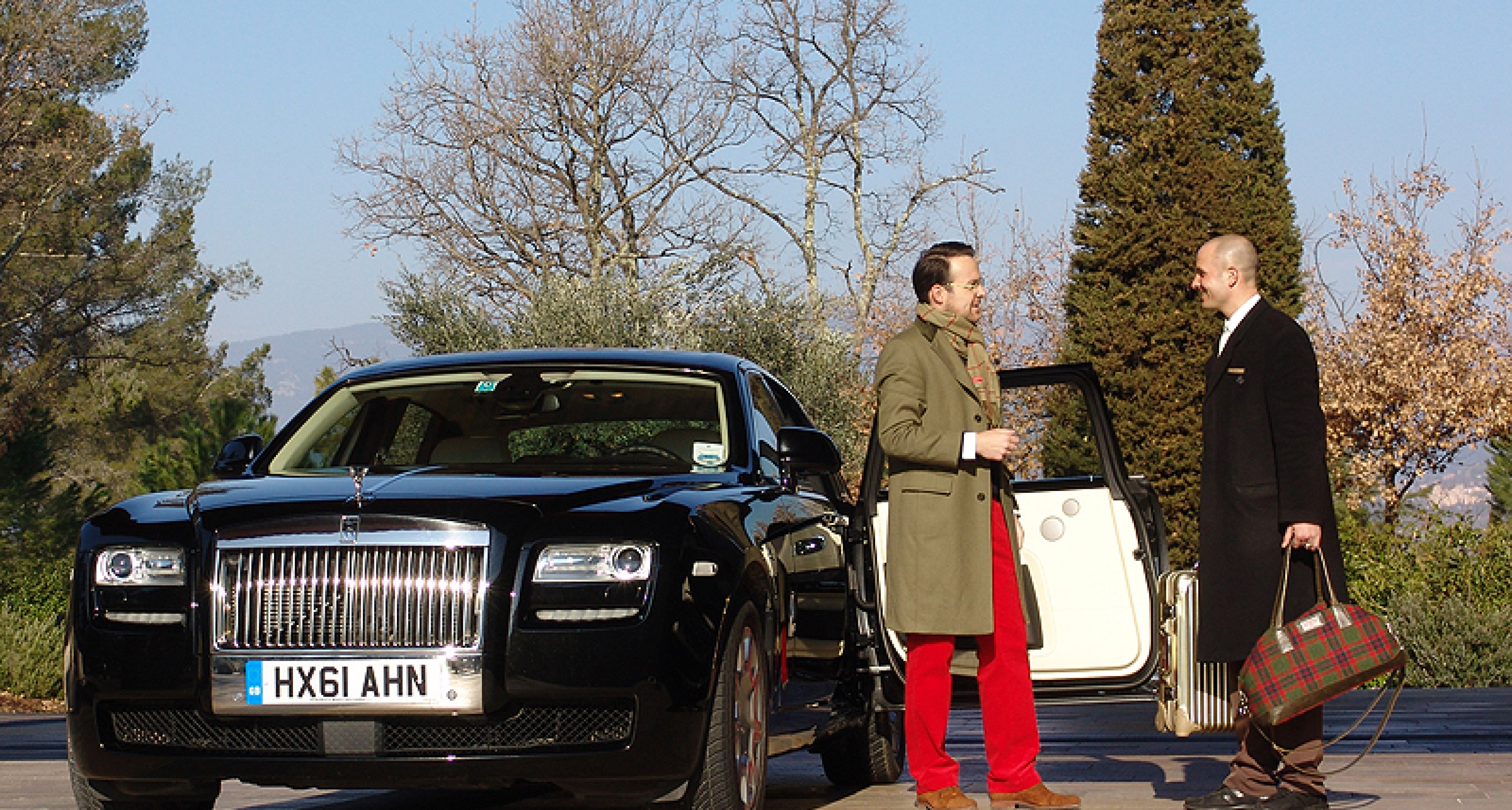 Classic Driver Tour: Im Rolls-Royce Ghost EWB von München nach Nizza