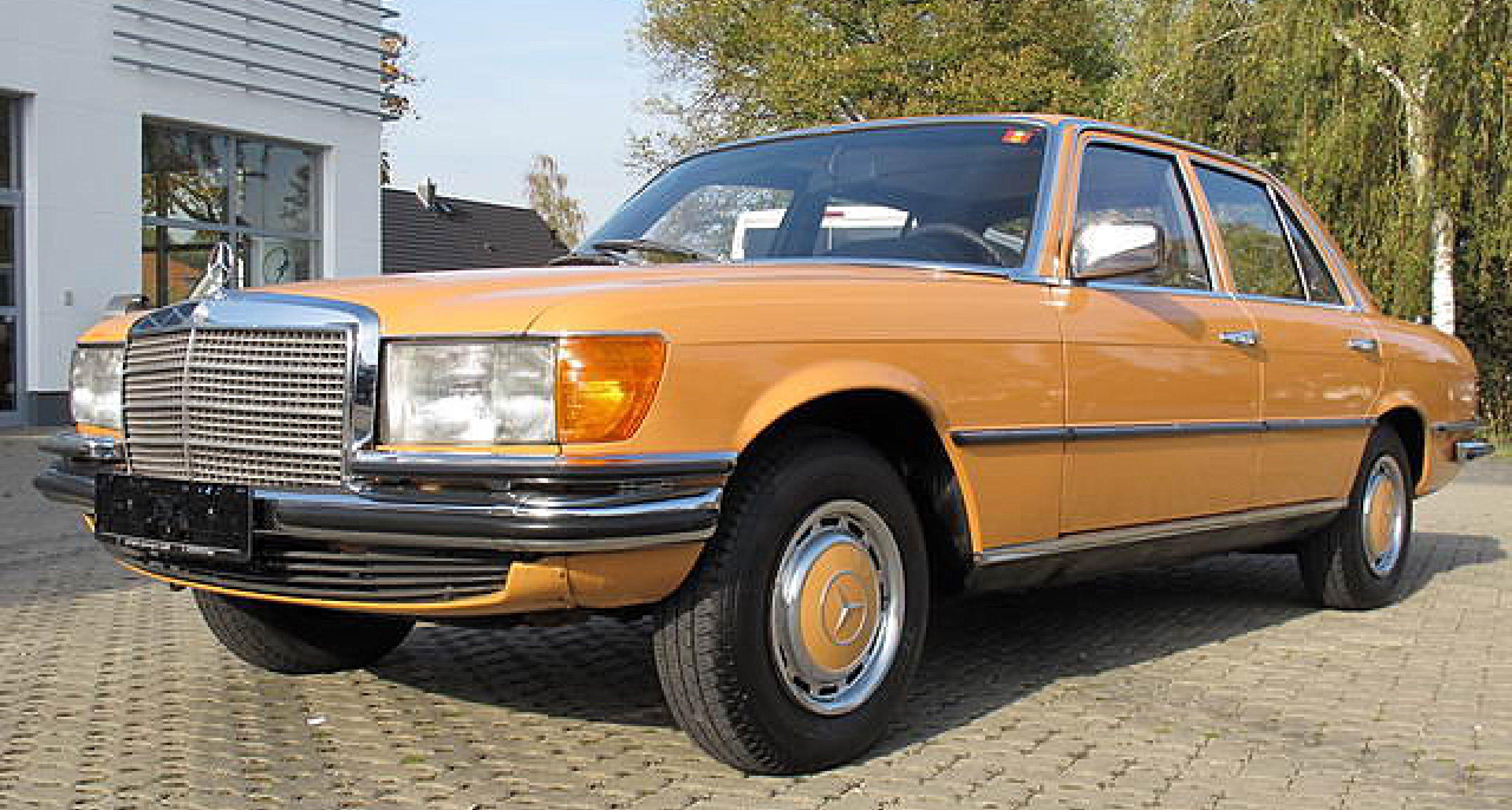Editor's Choice: Mercedes-Benz S-Klasse im Seventies-Look